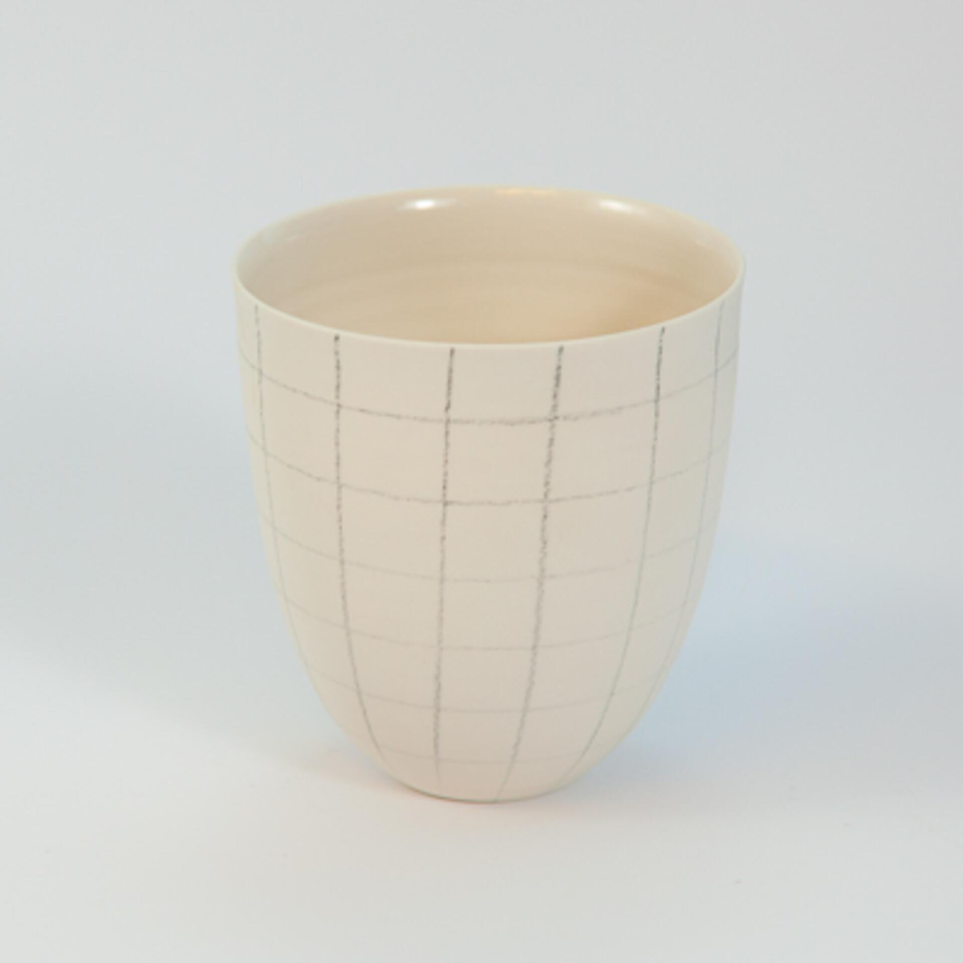 Schoemig Porzellan Becher Graph Quadrat Klein