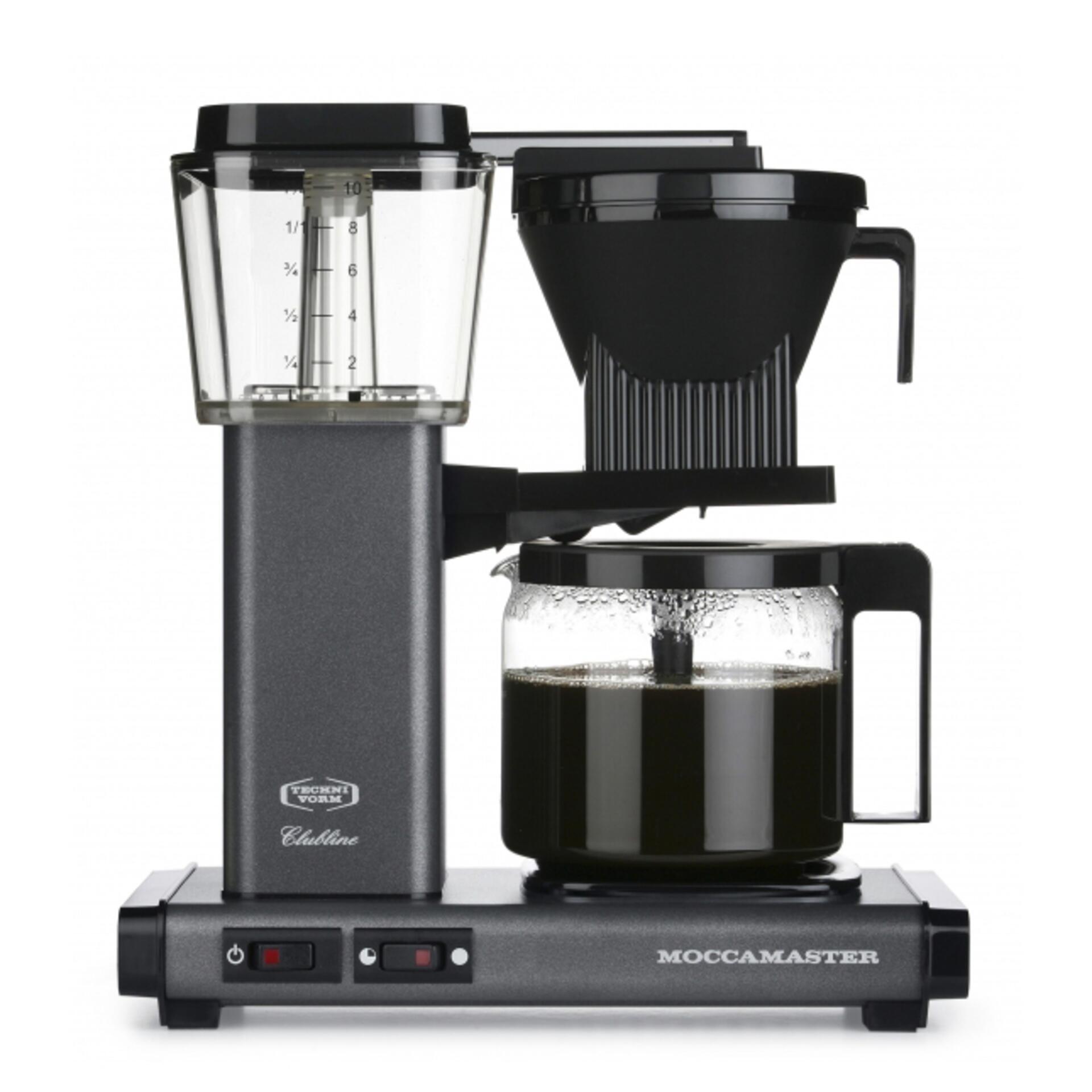 Moccamaster Kaffeemaschine KBG Select Stone Grey