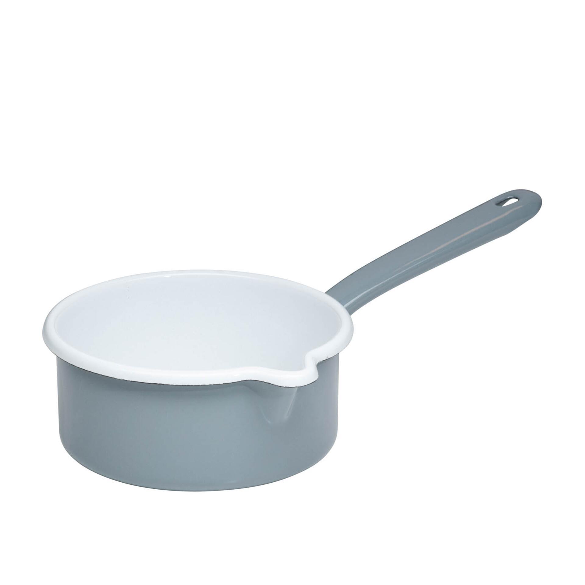Riess Stielkasserolle 14 cm Pure Grey