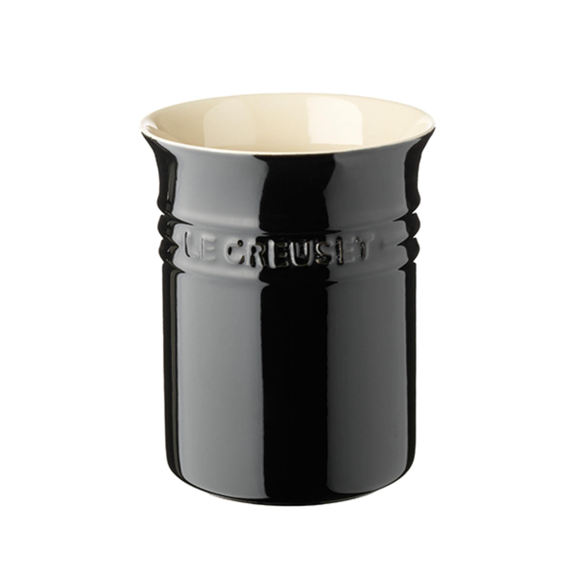 Le Creuset Topf für Kochkellen Schwarz