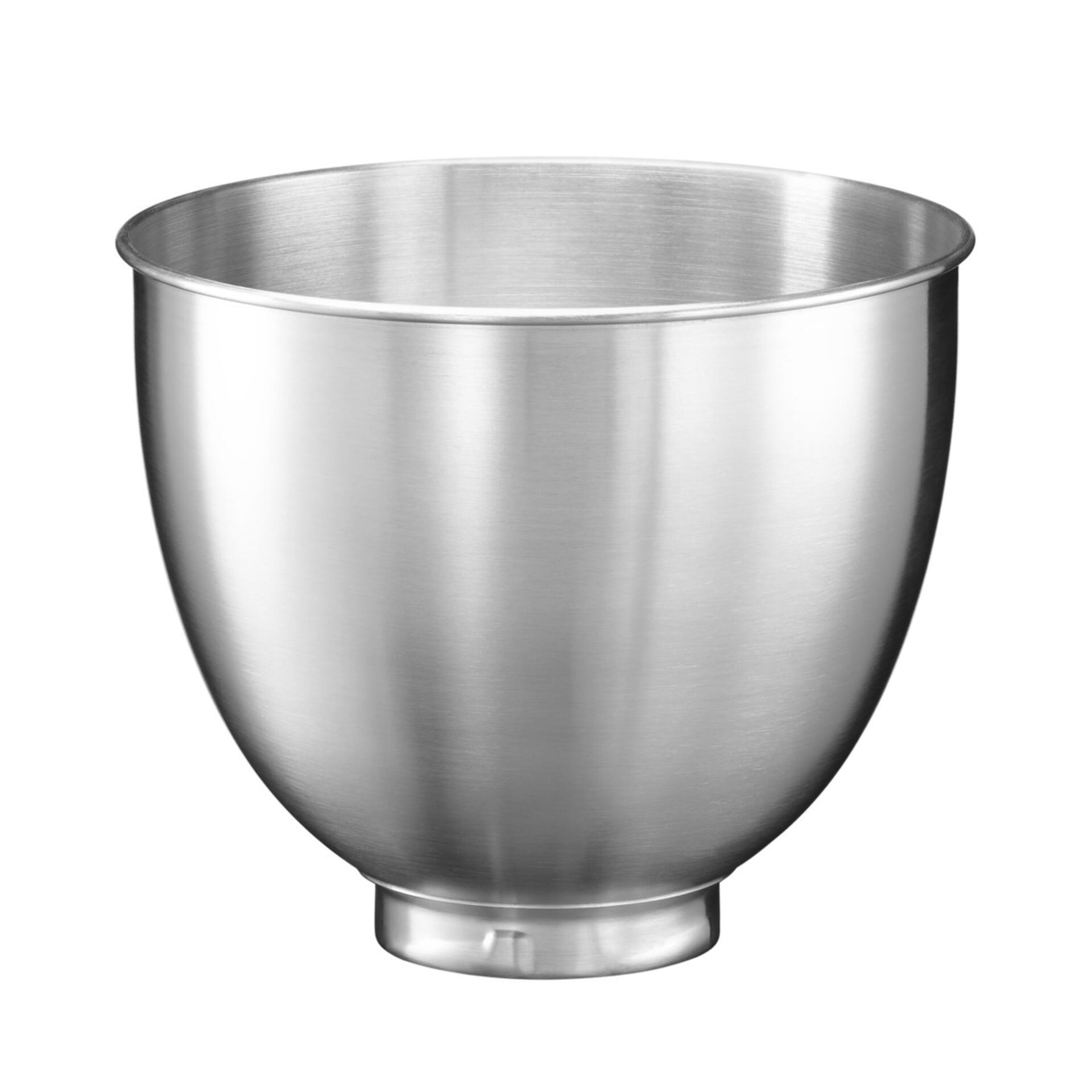 KitchenAid Schüssel 3,3 Liter gebürsteter Edelstahl ohne Griff 5KSM35SSB