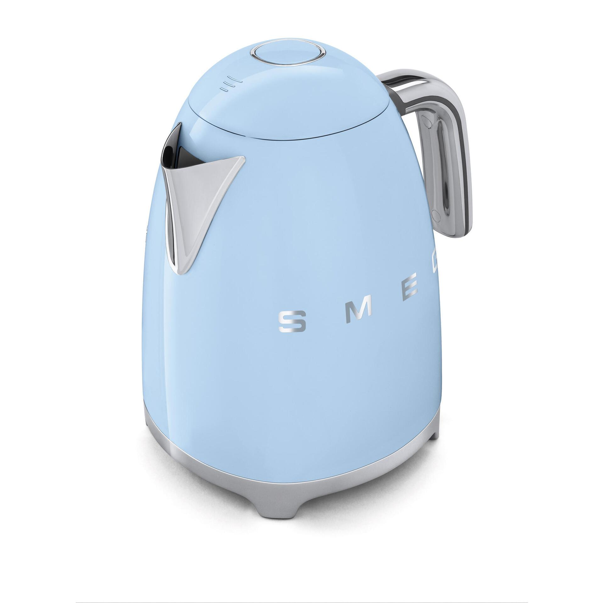 Smeg Retro Wasserkocher 1,7 Liter Pastellblau