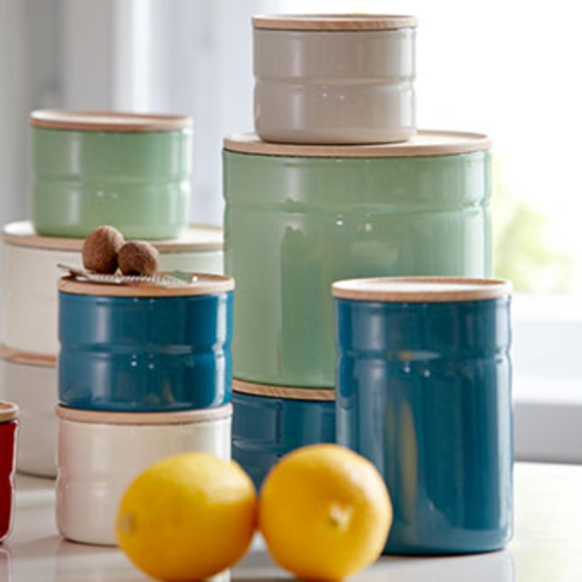 Riess Vorratsdosen Set Blau