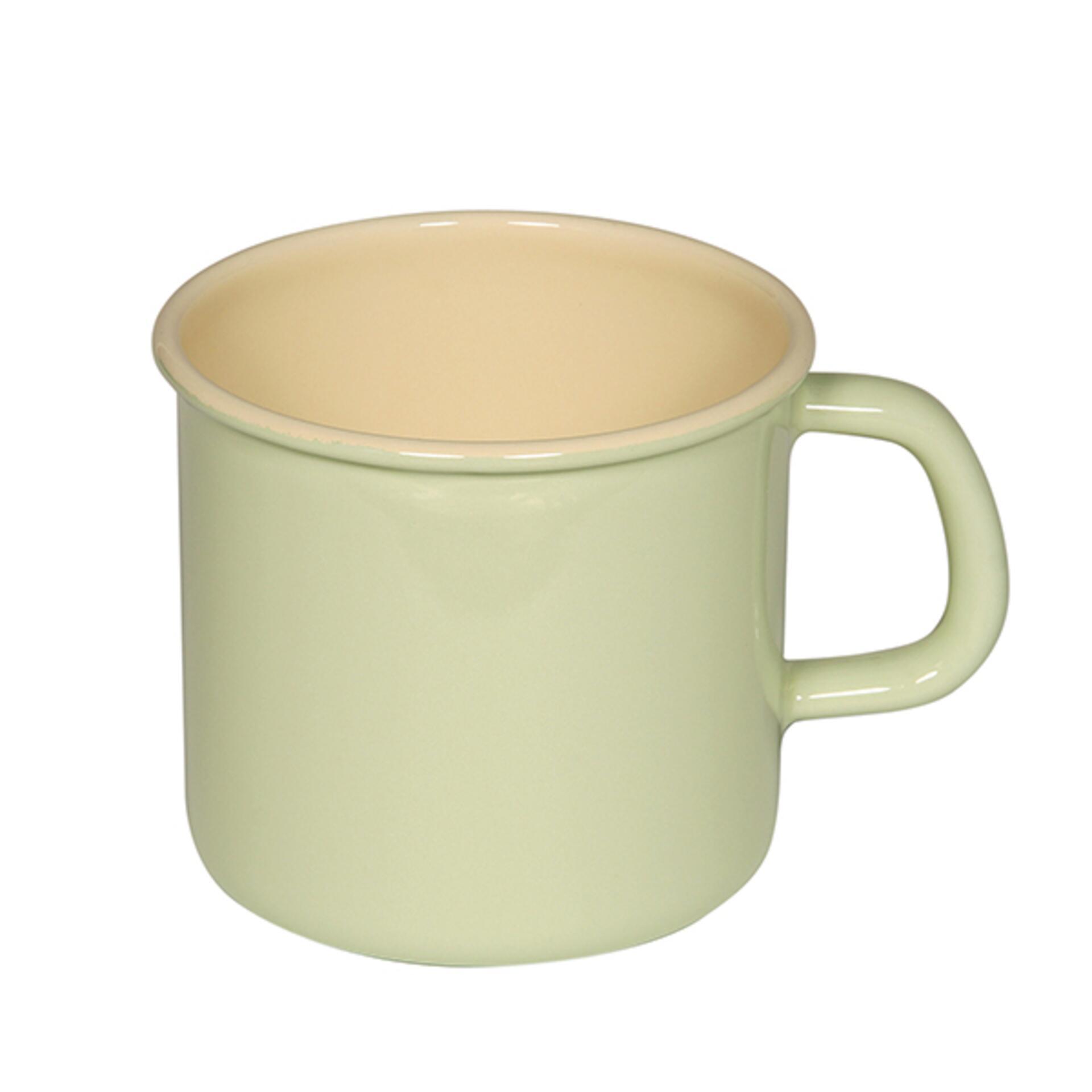 Topf mit Bördel Nilgrün 11 cm 0,75 l