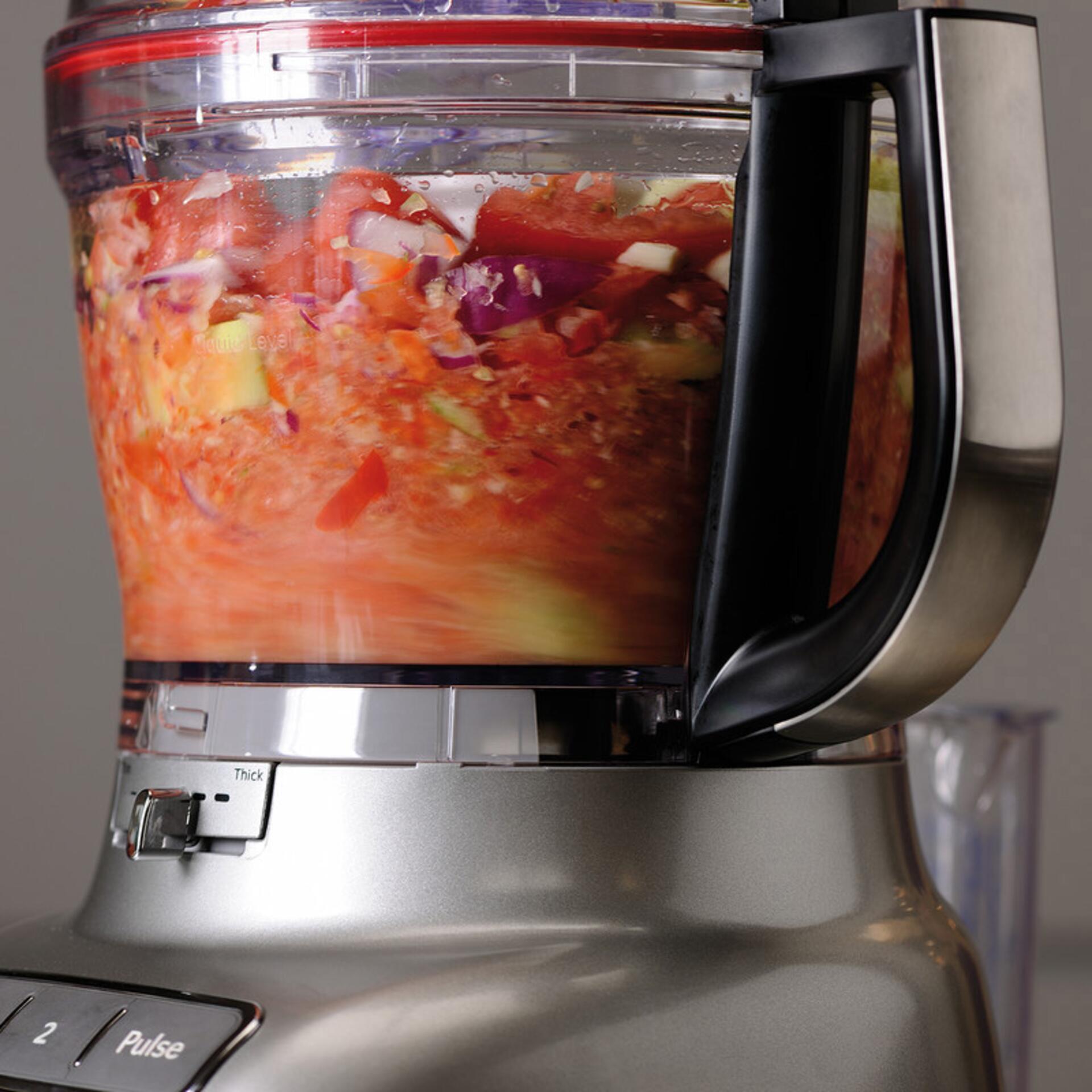 KitchenAid 3,1-L-Food-Processor 5KFP1335ECU Kontur-Silber