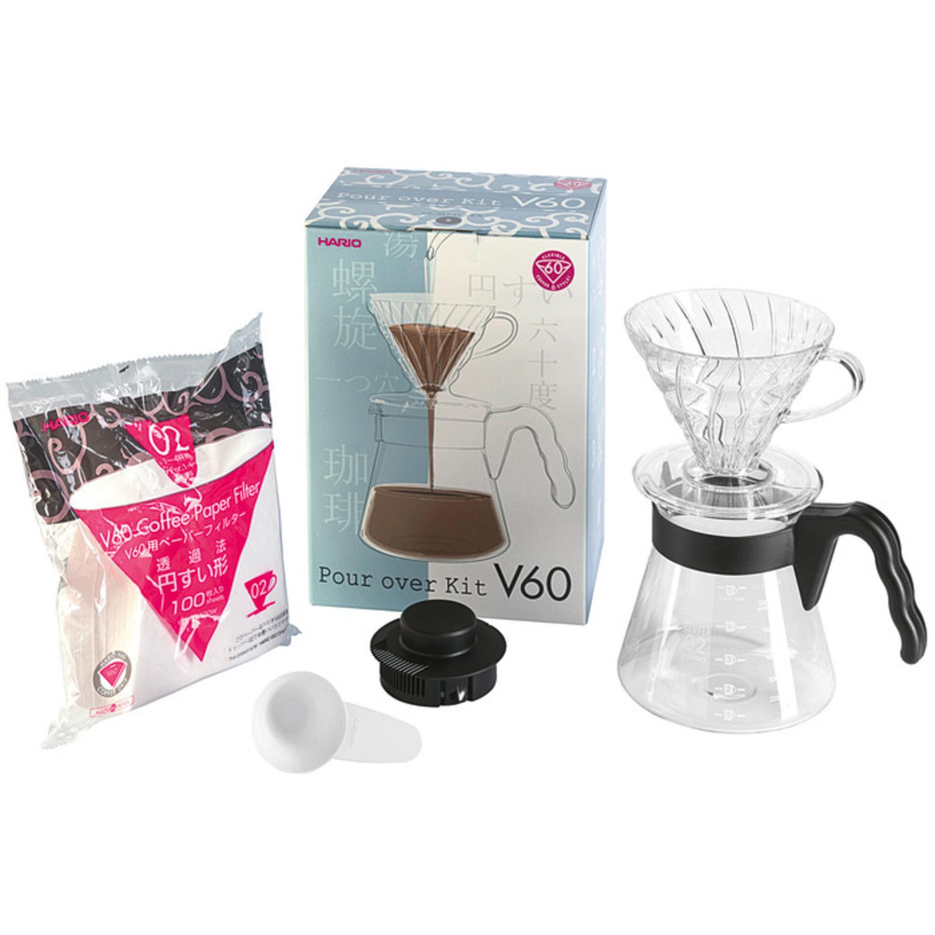 Hario Einsteigerset Kaffee V60 4teilig