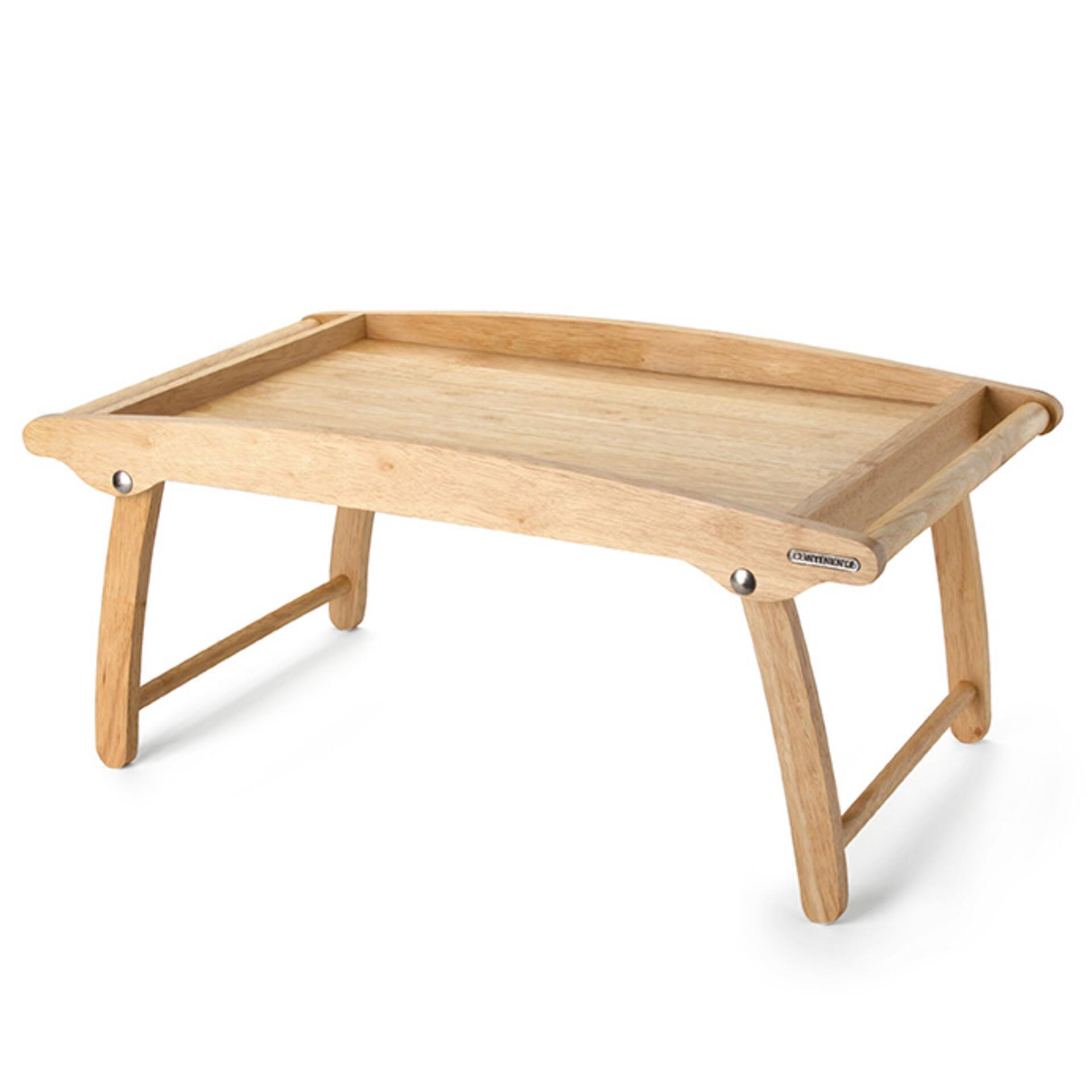 Continenta Betttablett Holz 61 x 35 x 7 cm