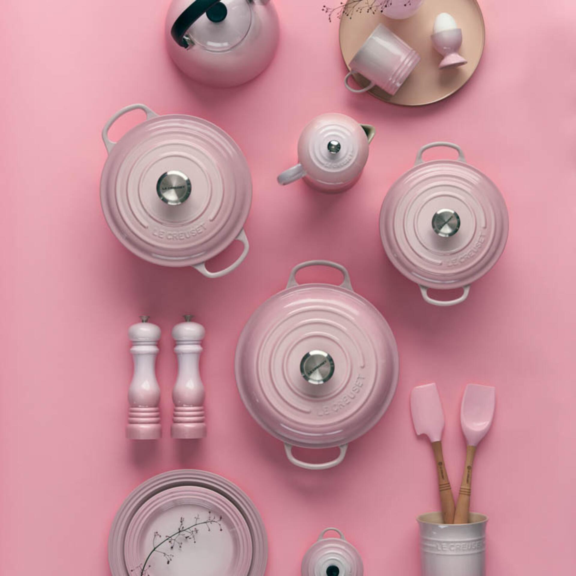 Le Creuset Salzmühle Shell Pink 21 cm