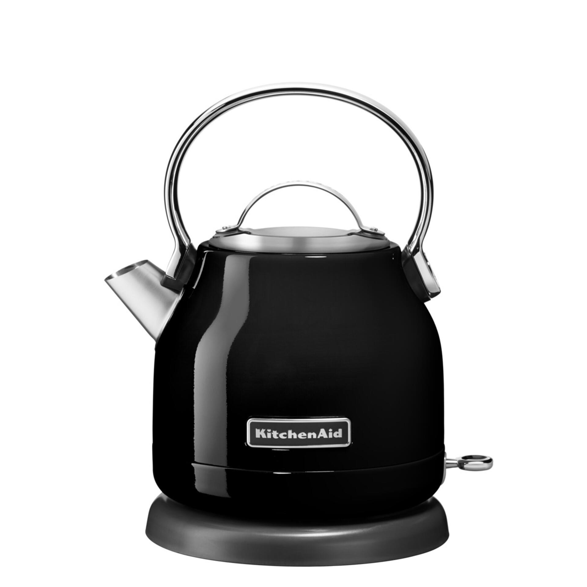 KitchenAid Classic Wasserkocher Onyx Schwarz 5KEK1222EOB