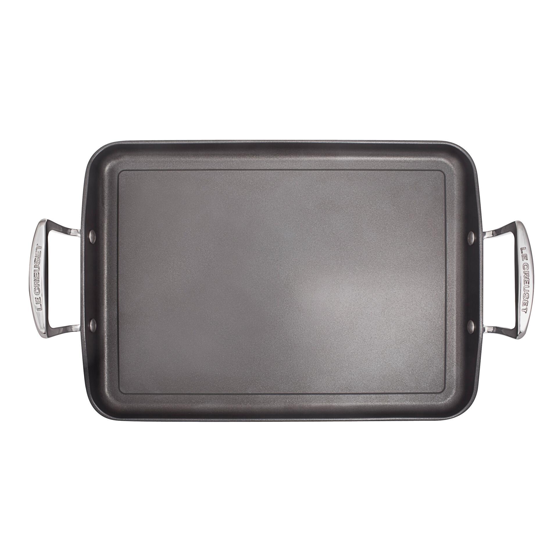 Le Creuset Aluminium-Antihaft-Grillplatte 34 x 25 cm