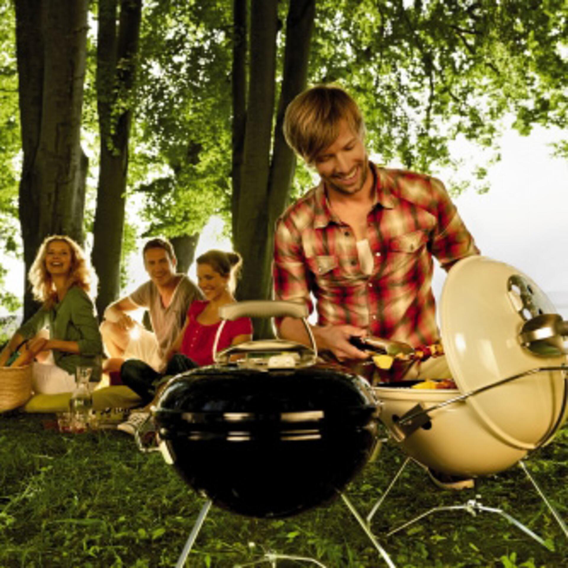Weber Grill Smokey Joe Premium Elfenbein
