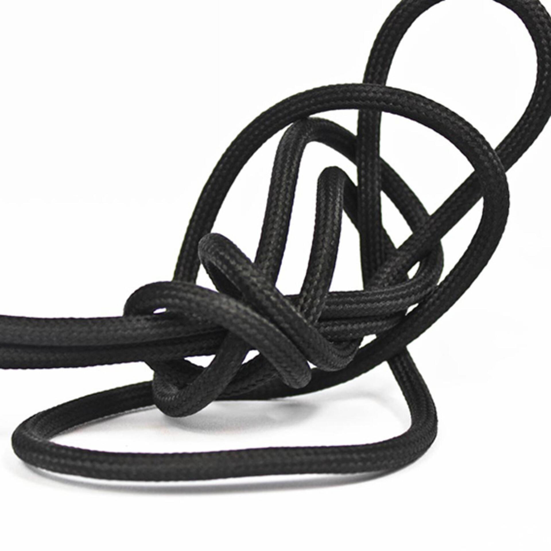 Nud schwarze Lampenfassung Keramik Schwarz