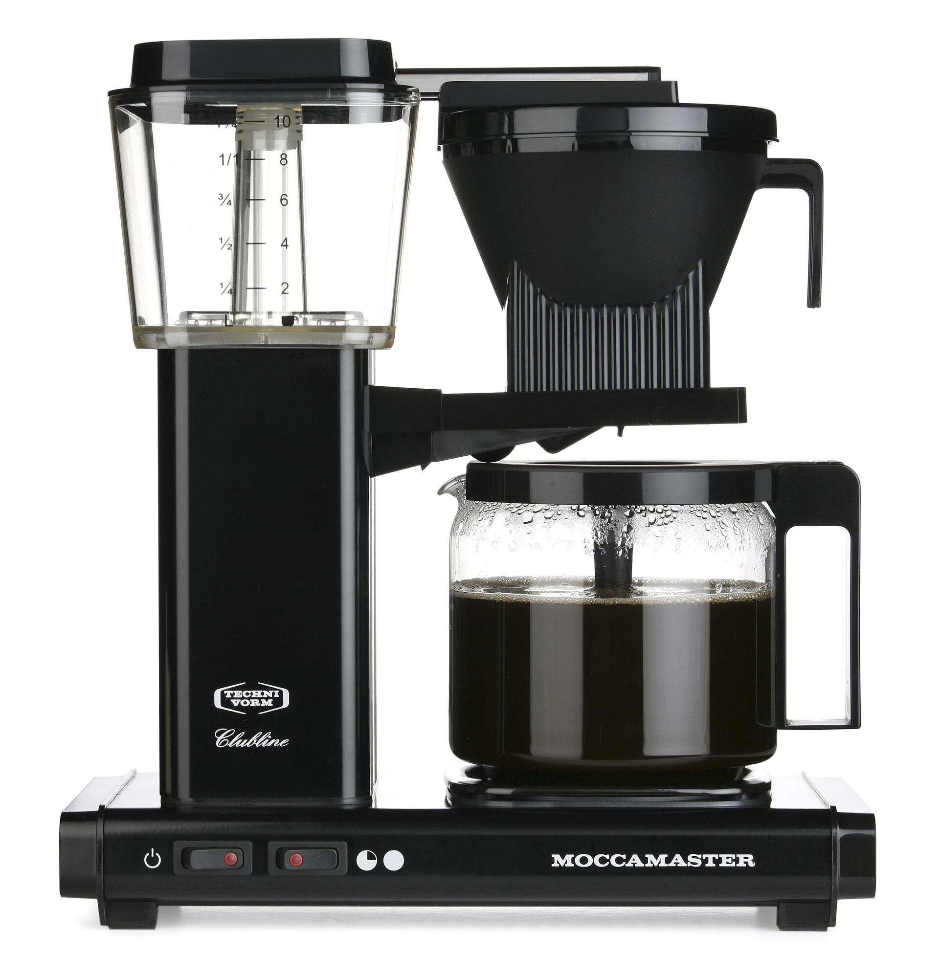 Moccamaster Kaffeemaschine KBG Select Schwarz