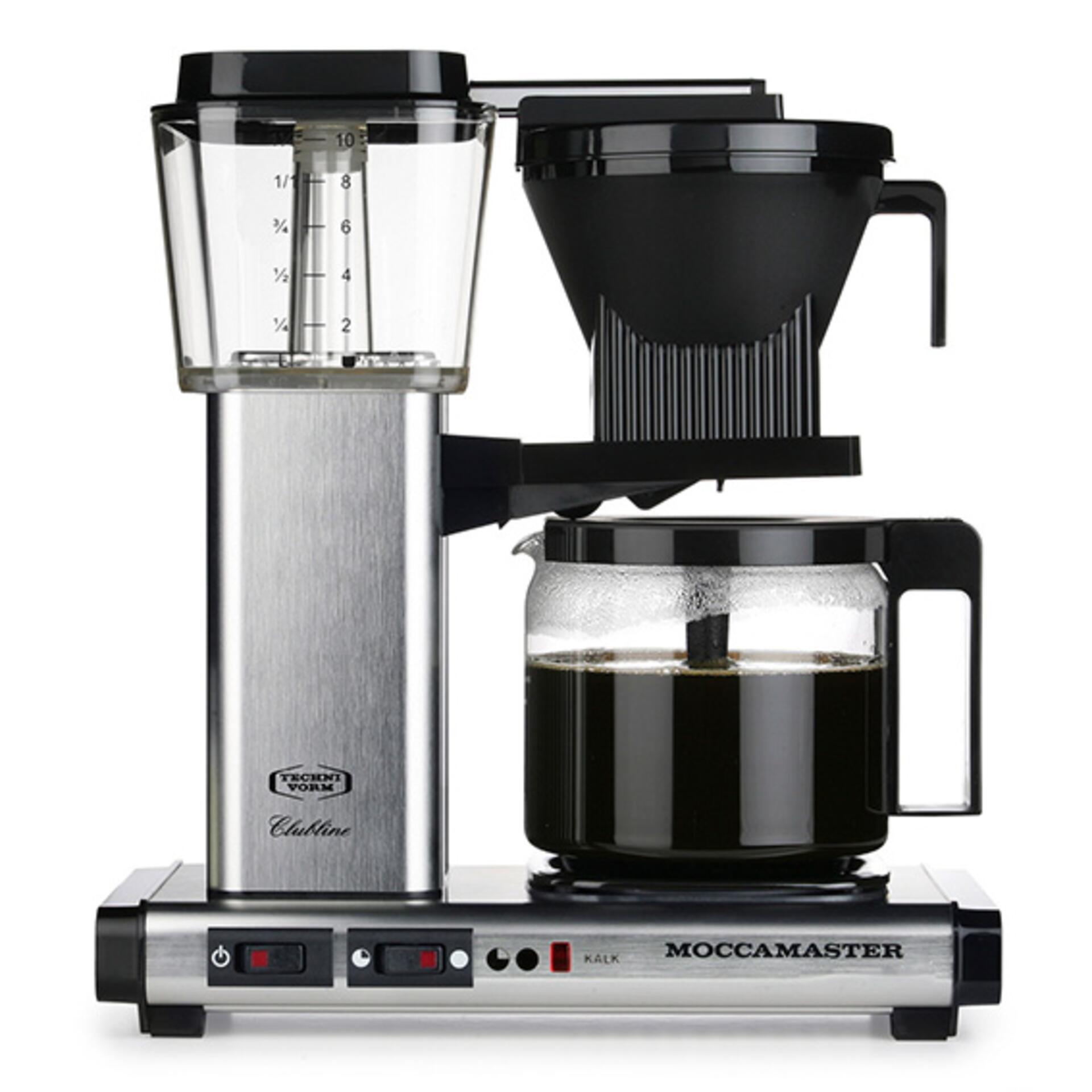 Moccamaster Kaffeemaschine KBG Select Brushed