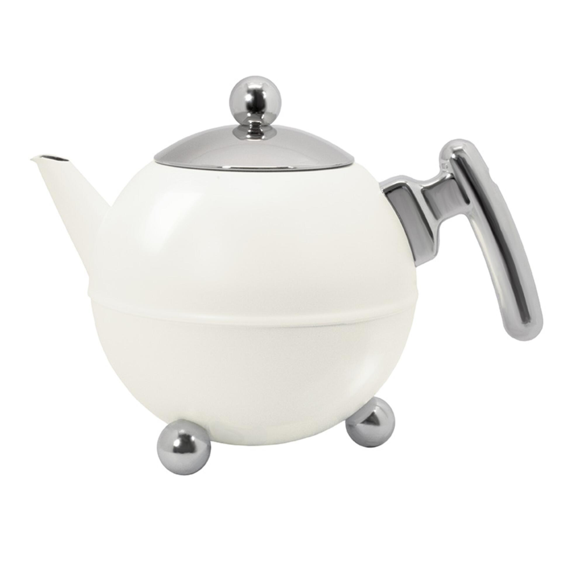 Bredemeijer Teekanne Bella Ronde 1,2 l Weiß
