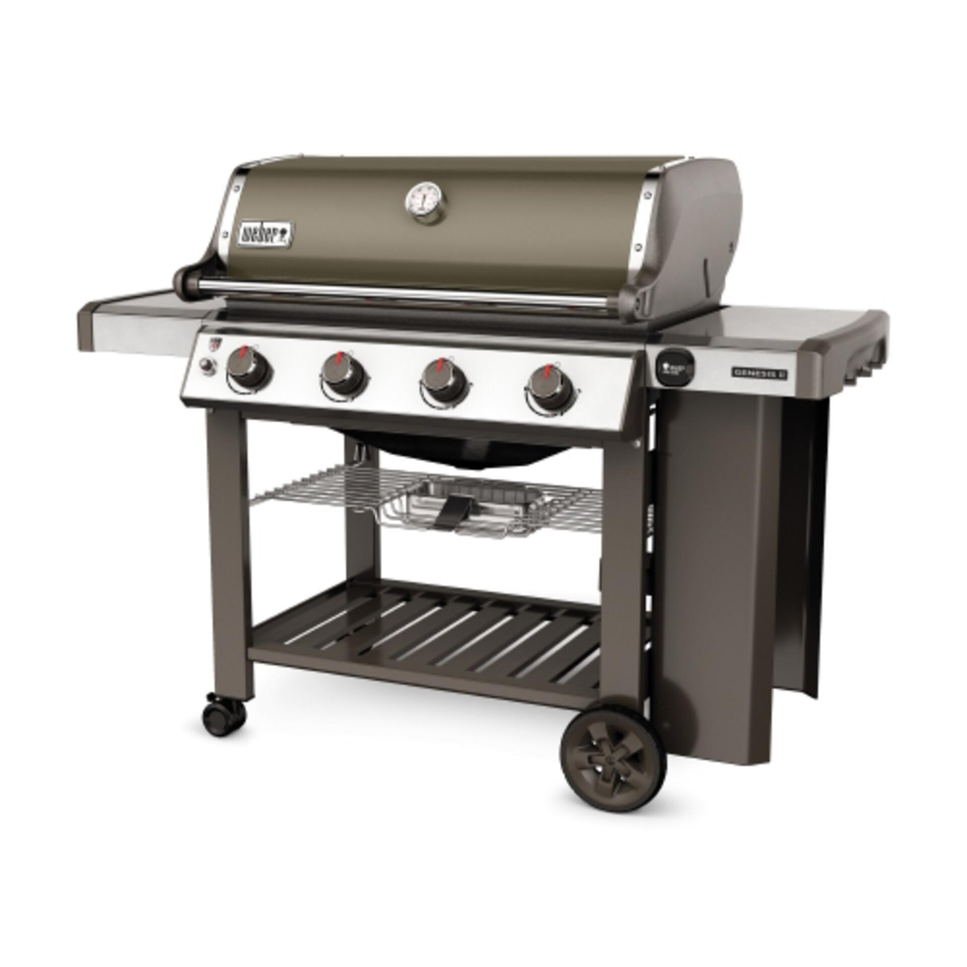 Weber Gasgrill Genesis II E-410-2017/2018 GBS Smoke Grey