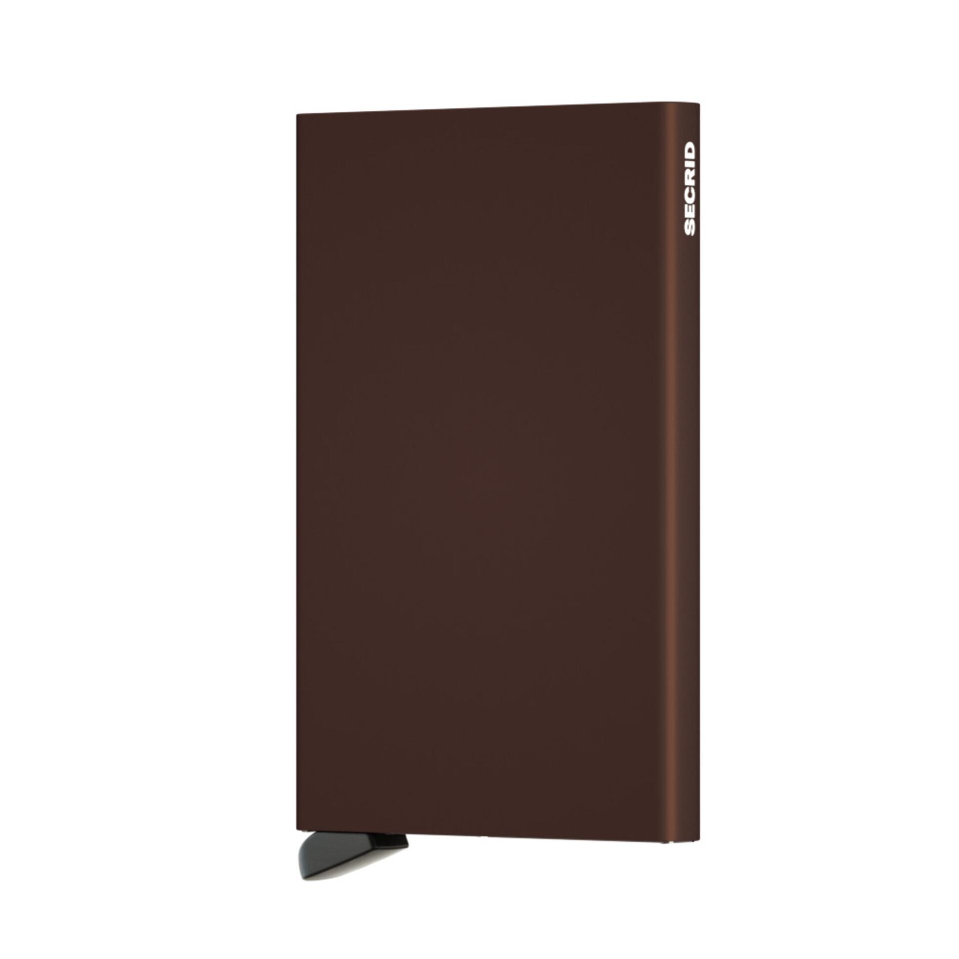Secrid Miniwallet Vintage Chocolate Leder