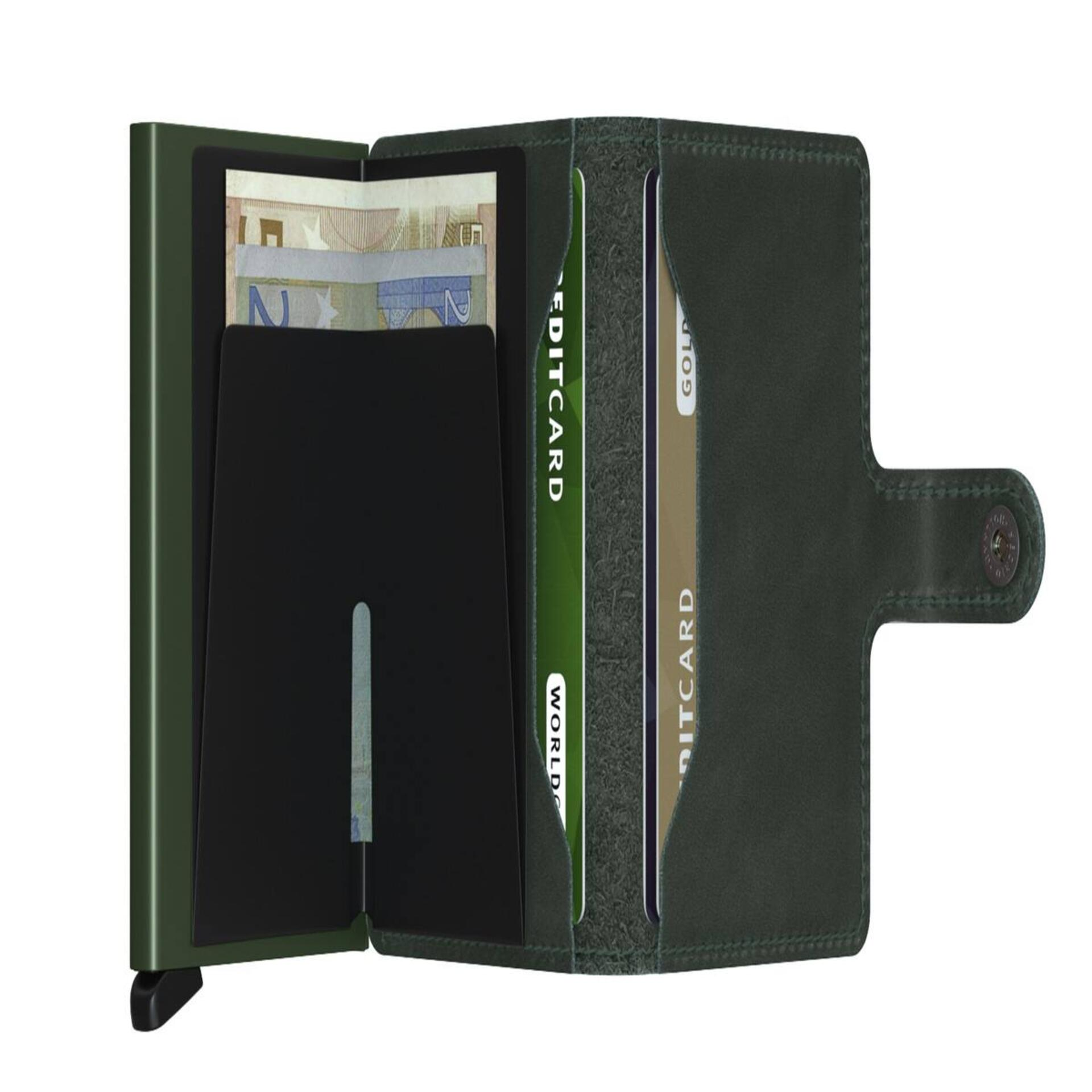 Secrid Miniwallet Original Green Leder