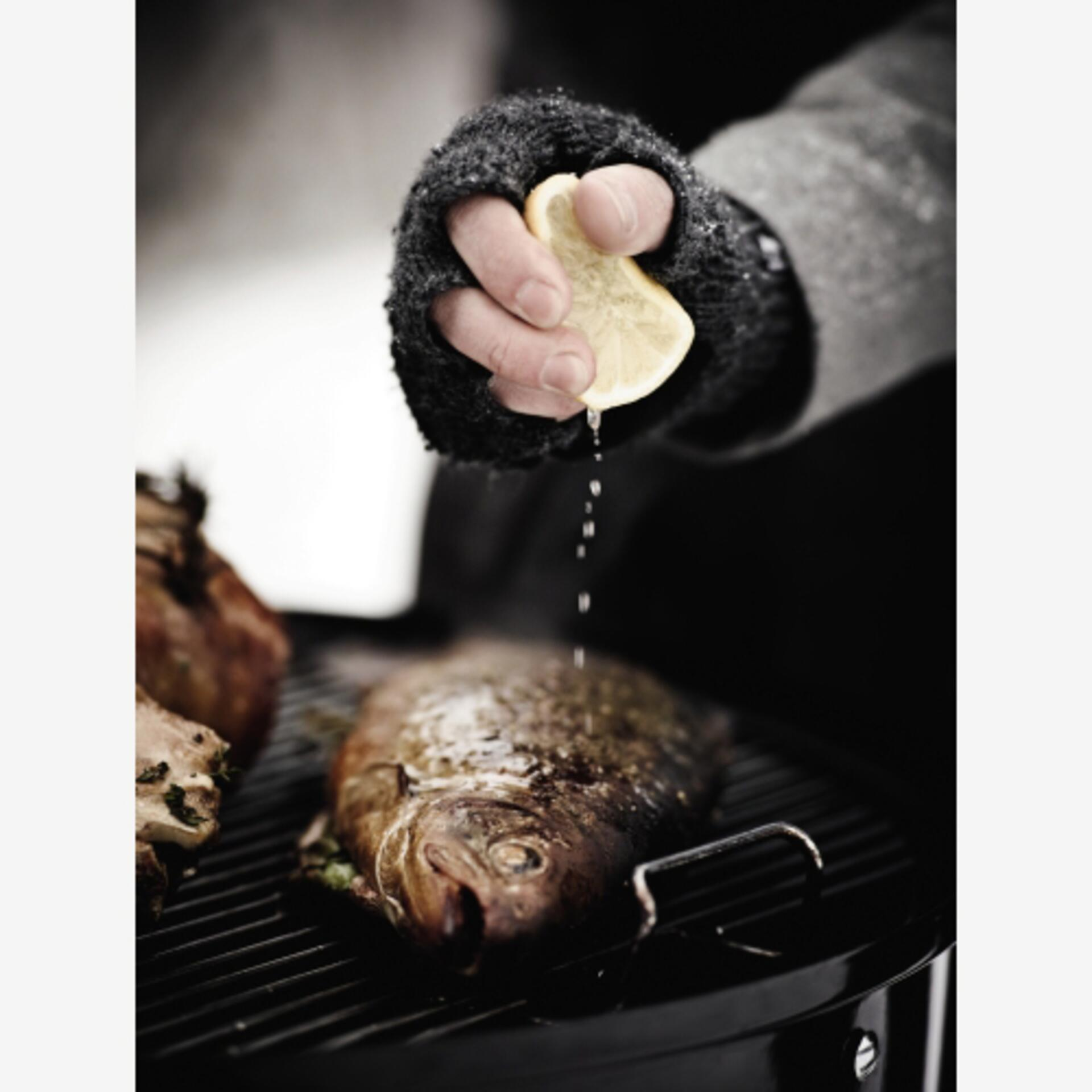 Weber Smokey Mountain Cooker 57 cm Black