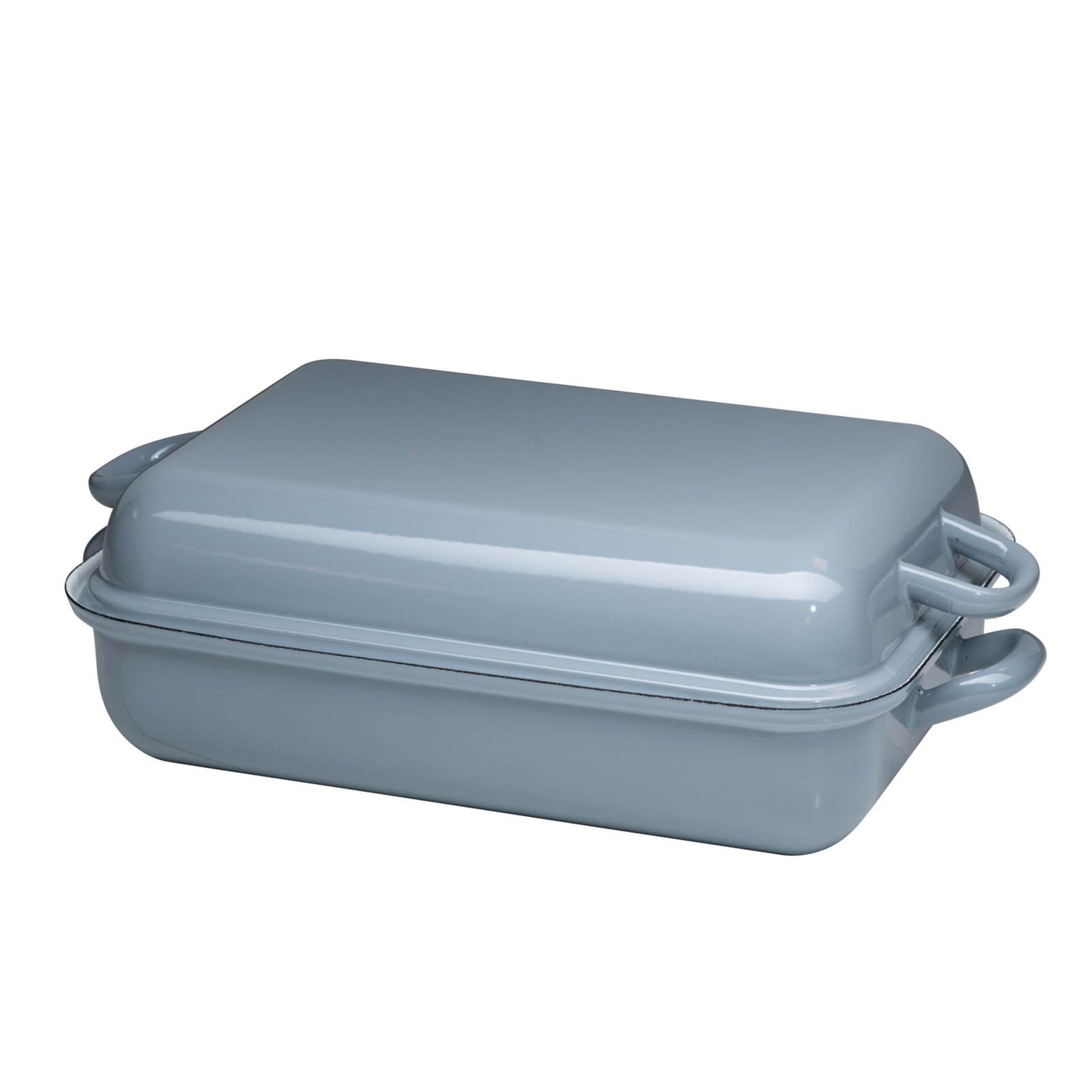Riess Bratpfanne mit Deckel 37/26 Pure Grey