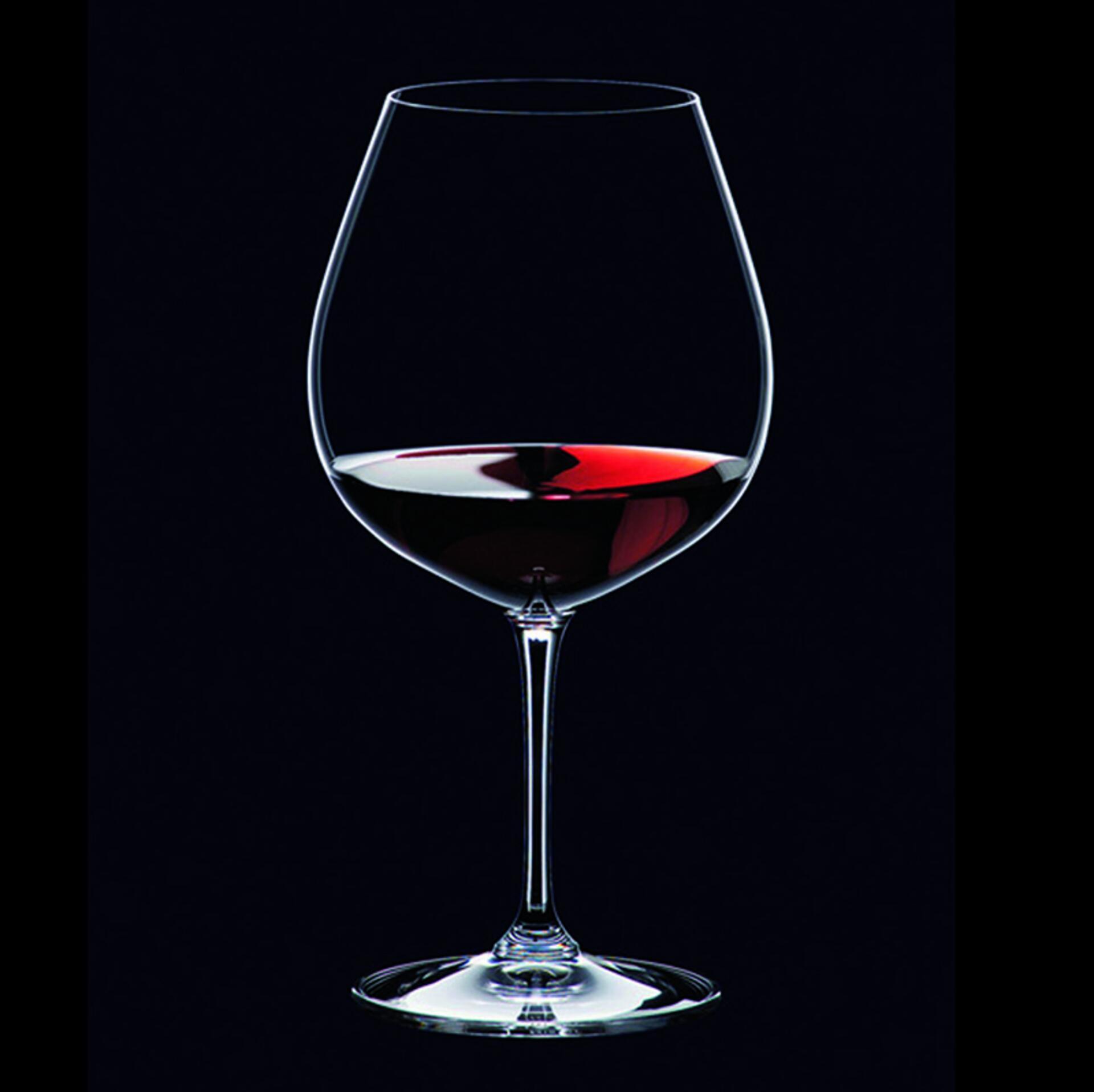 Riedel Vinum Rotweinglas Pinot Noir (Burgunder Rot) 2 Stück 6416/07
