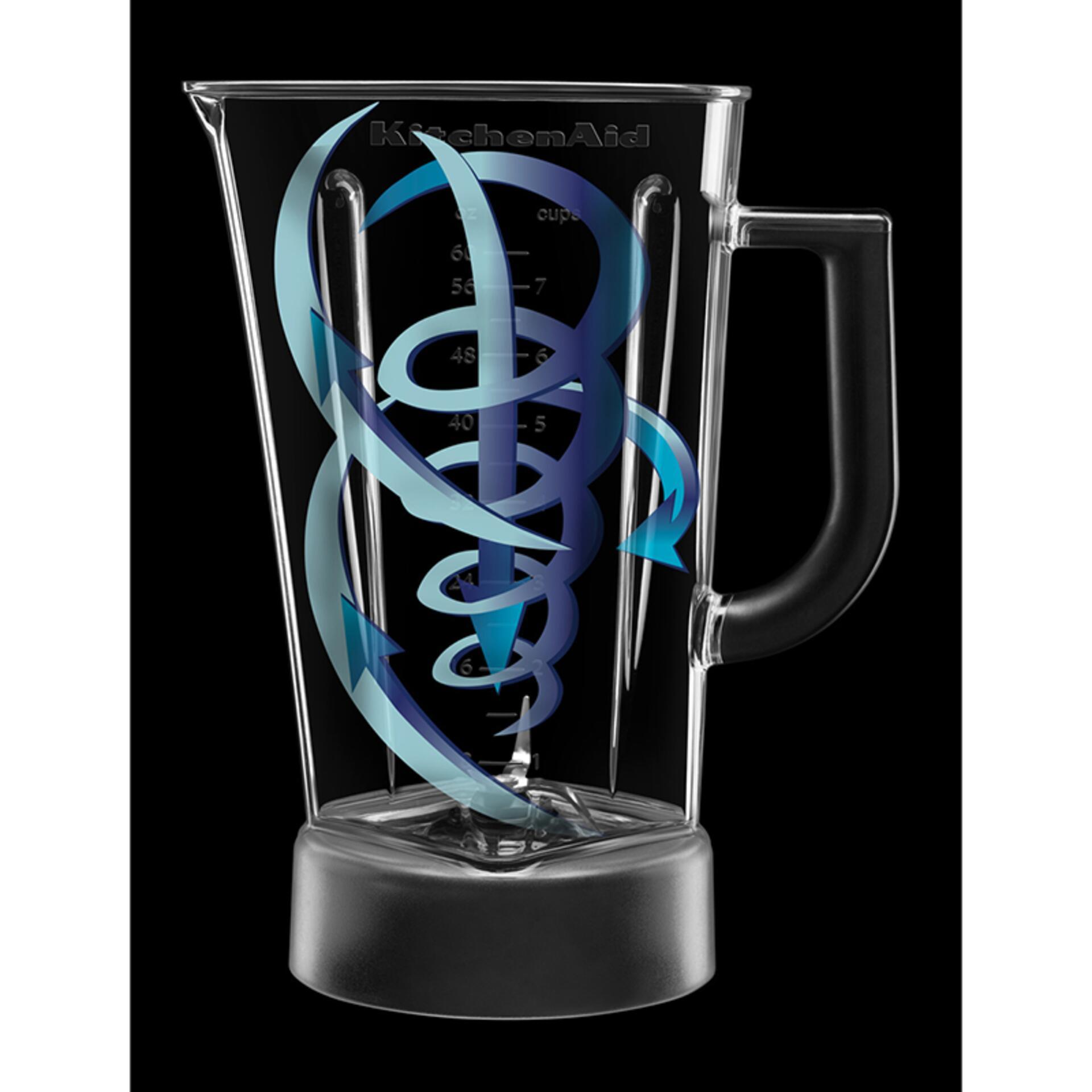 Kitchenaid Blender im Rautendesign Classic Silber 5KSB1585ECU