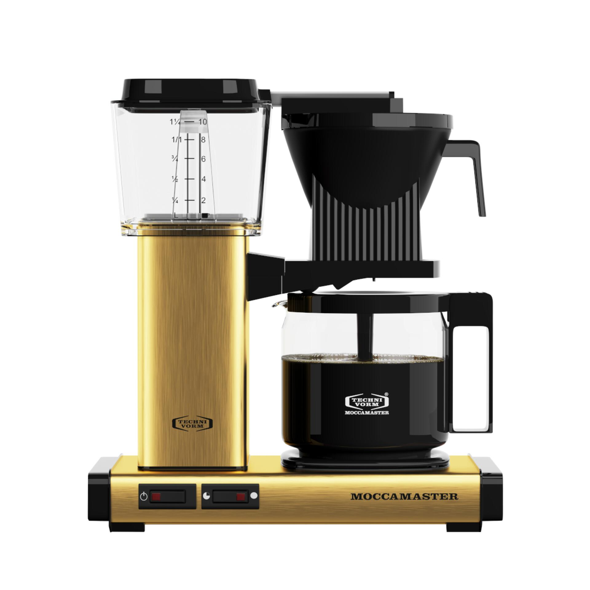 Moccamaster Kaffeemaschine KBG Select Brushed Brass