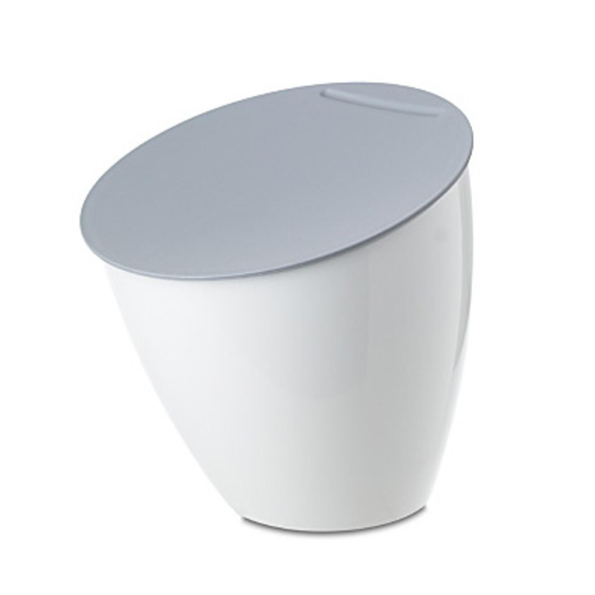 Rosti Mepal Tischmülleimer Calypso Weiß