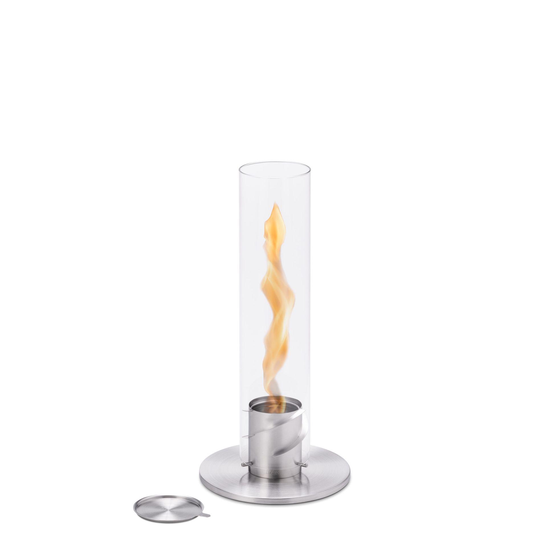 Höfats Spin 90 Tischfeuer Silver