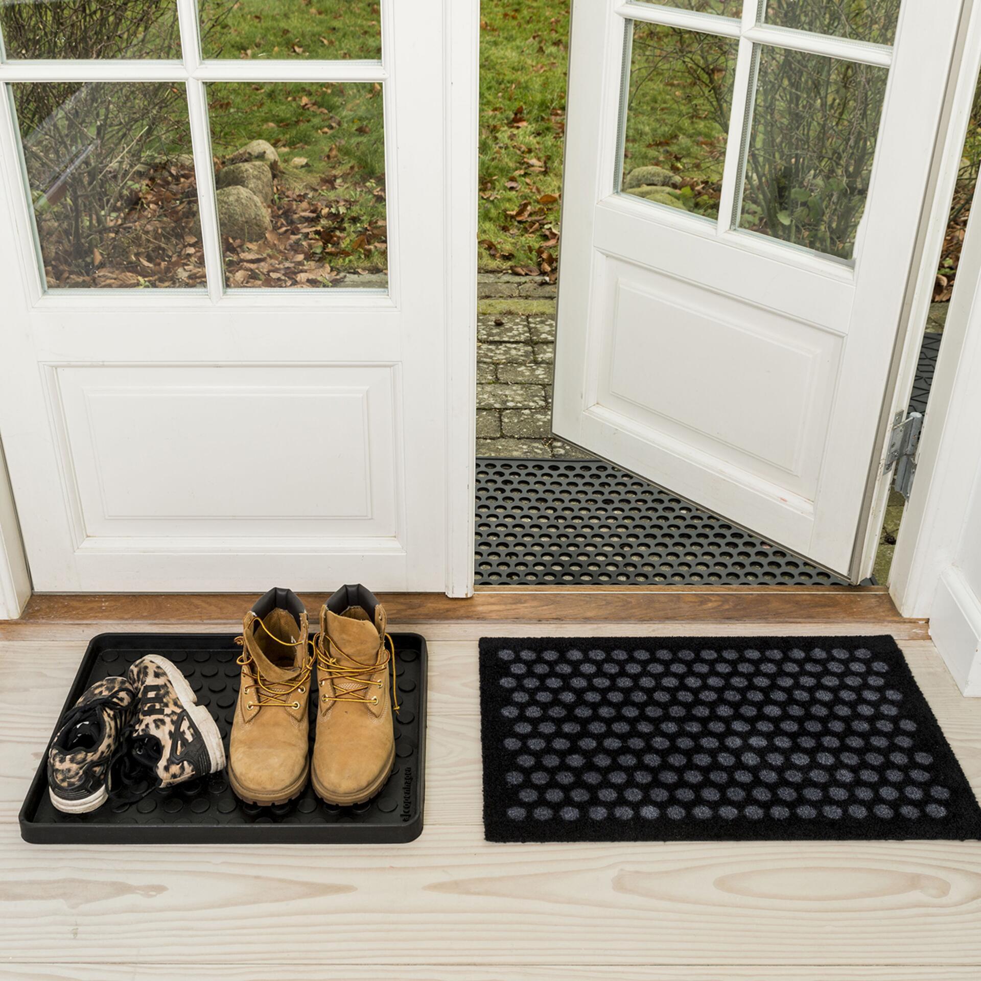 Tica Fußmatte aus recyceltem Gummi 60x90 cm