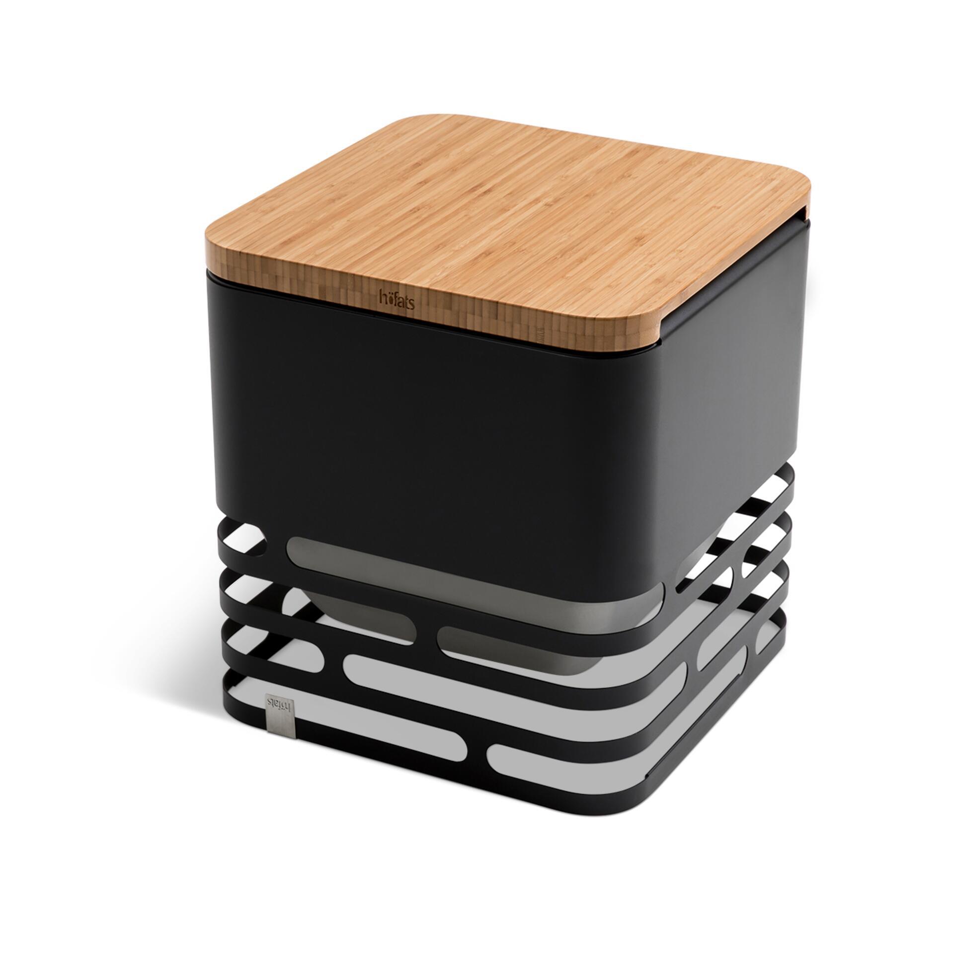 Höfats Cube Hocker Auflagebrett