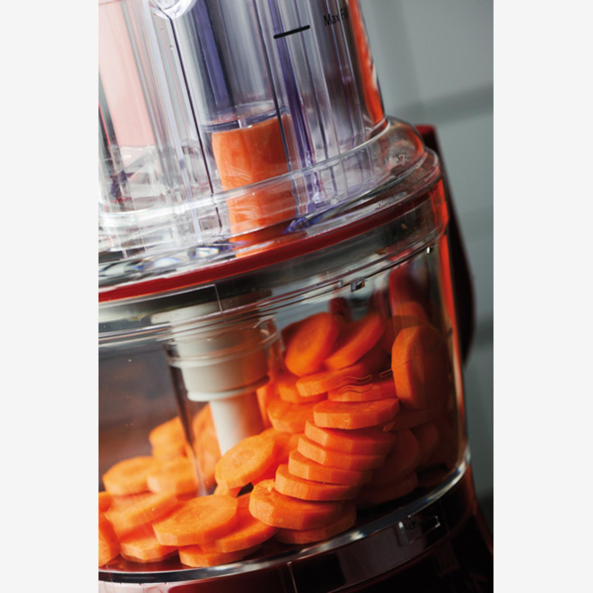 Kitchenaid Food-Processor 4L Liebesapfelrot 5KFP1644ECA