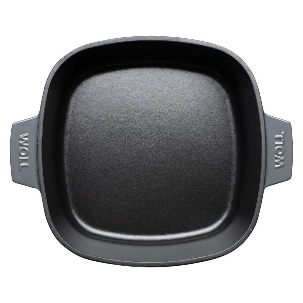 Woll Iron Kasserolle 24 x 24 cm Grau
