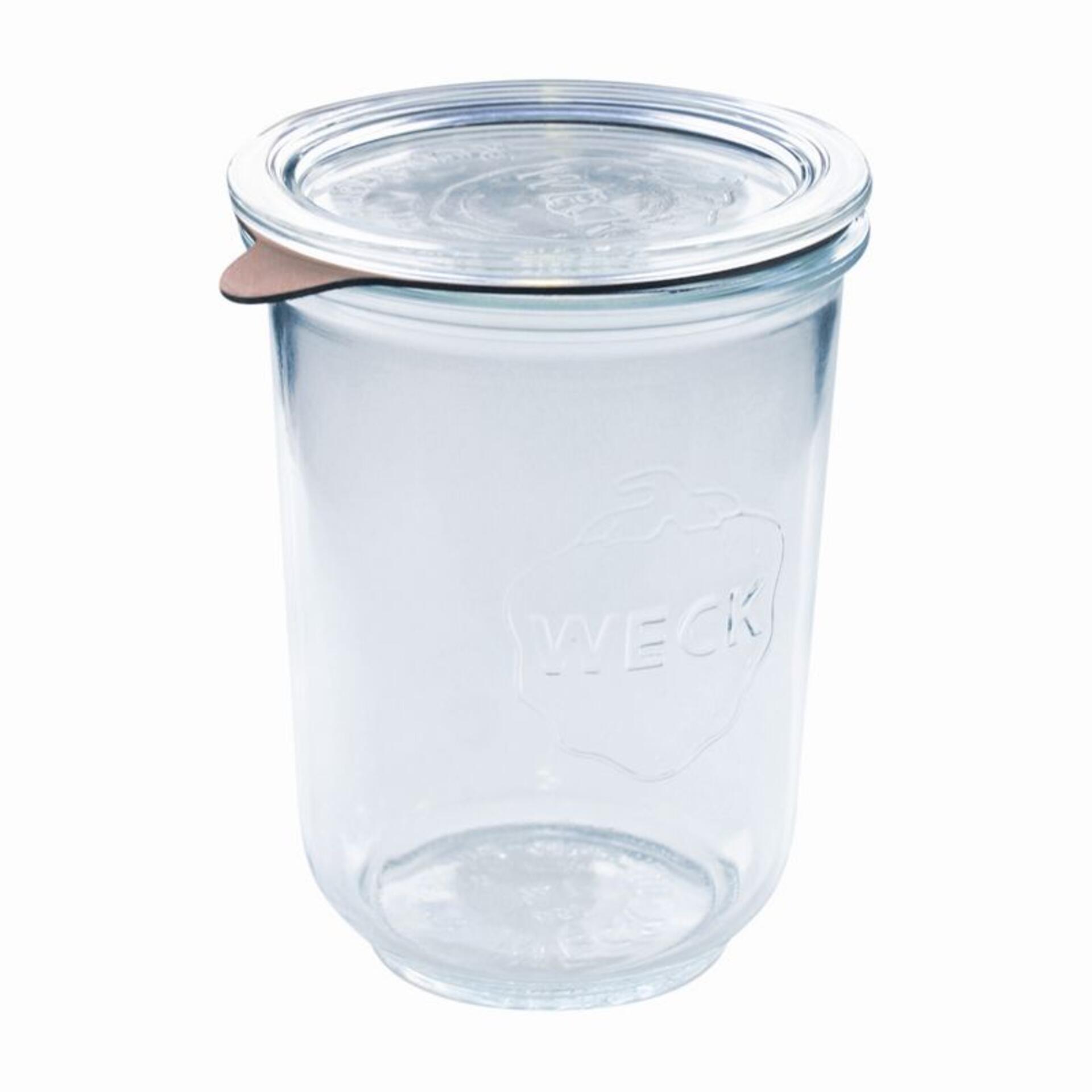 Weck 4er Set Sturzglas 750 ml