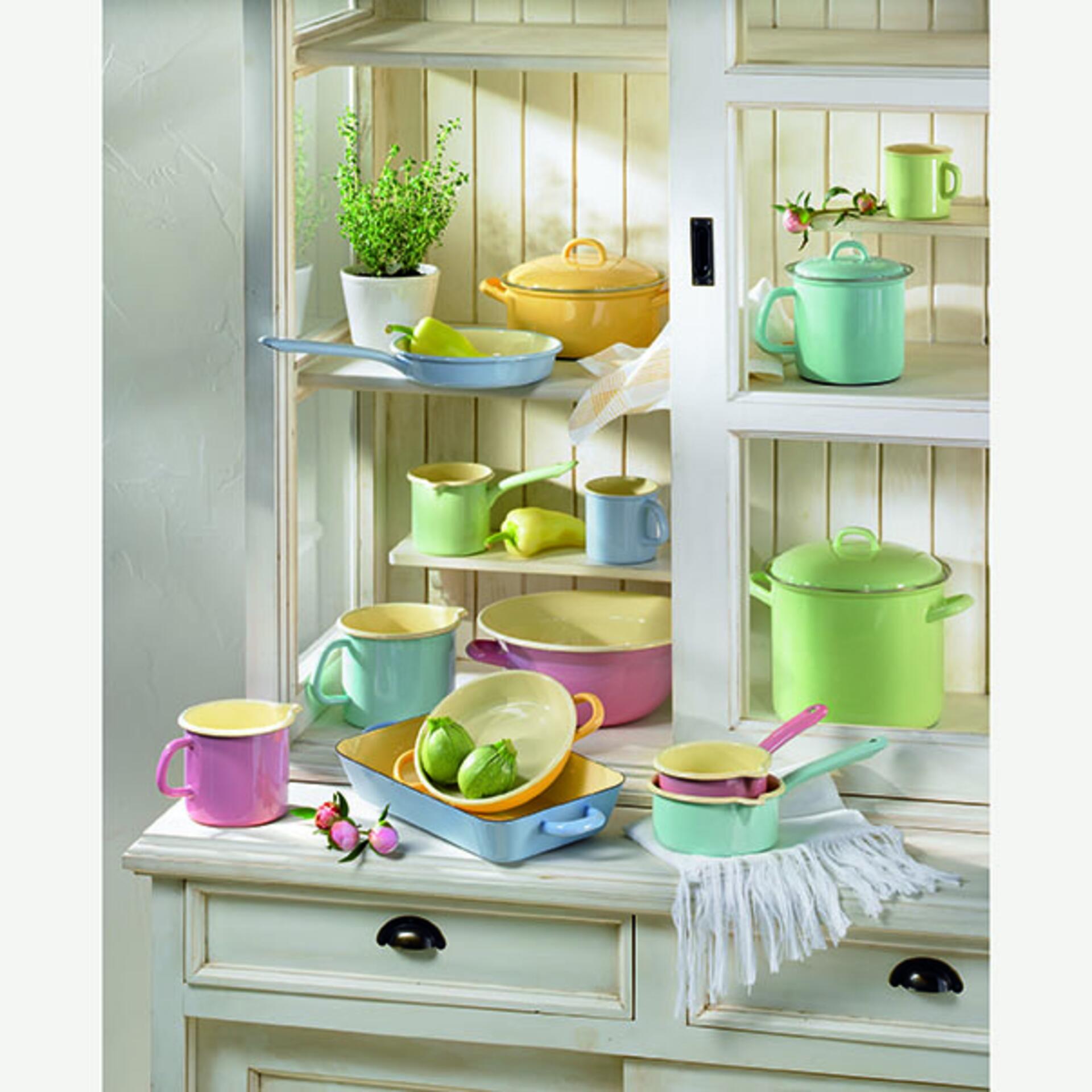 Riess Küchenschüssel mit Henkel