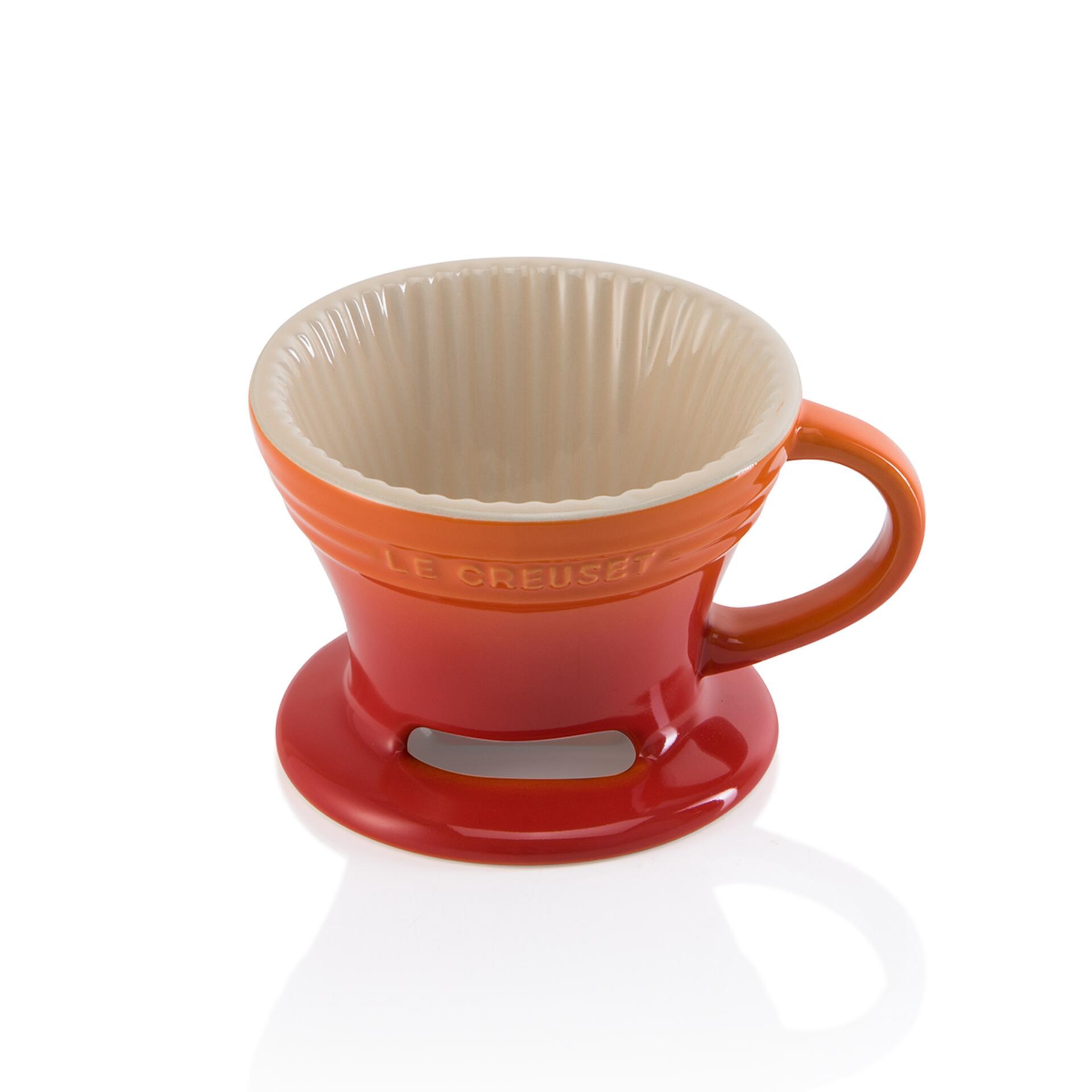 Le Creuset Kaffee-Filter Ofenrot