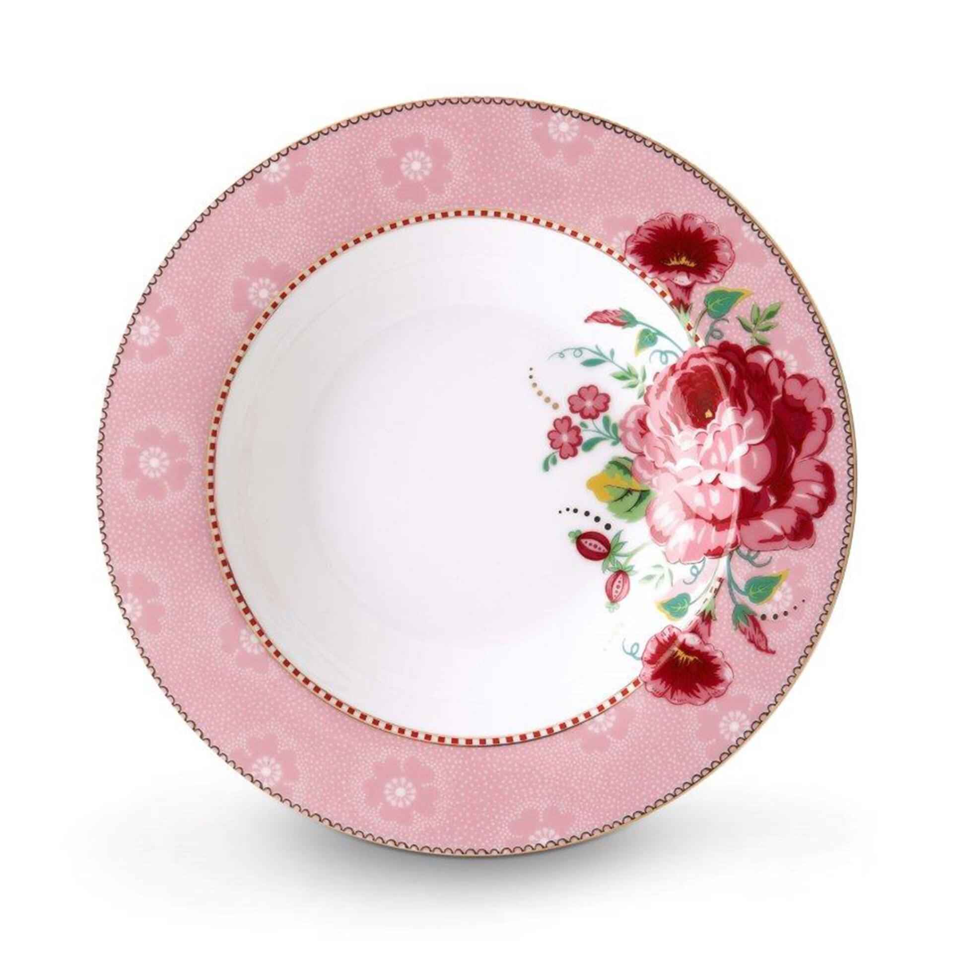 PiP Porzellan Pastateller Rose Pink