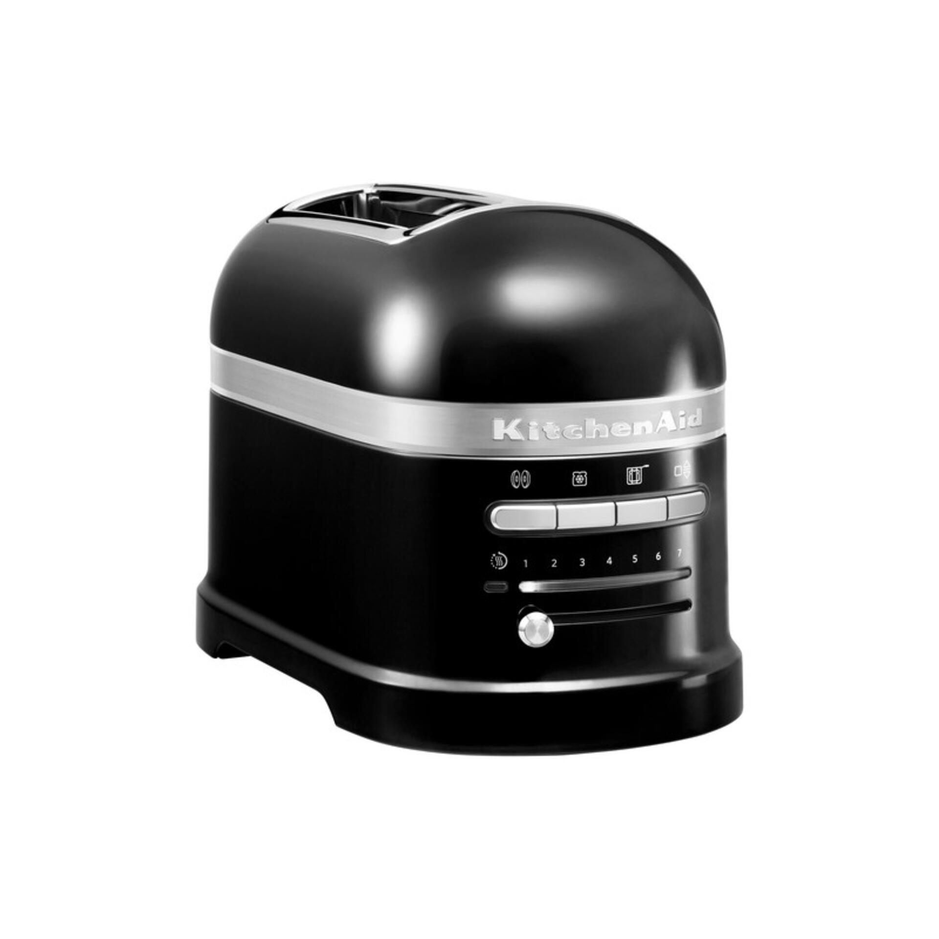 Kitchenaid 2-Scheiben-Toaster Schwarz 5KMT2204EOB