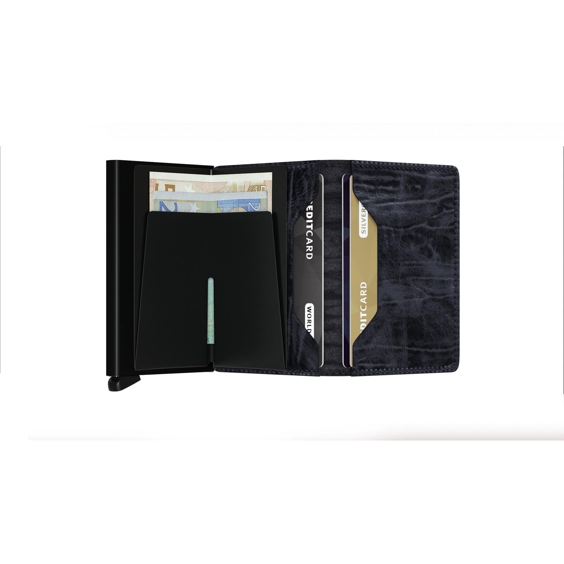 Secrid Slimwallet Dutch Martin Nightblue Leder
