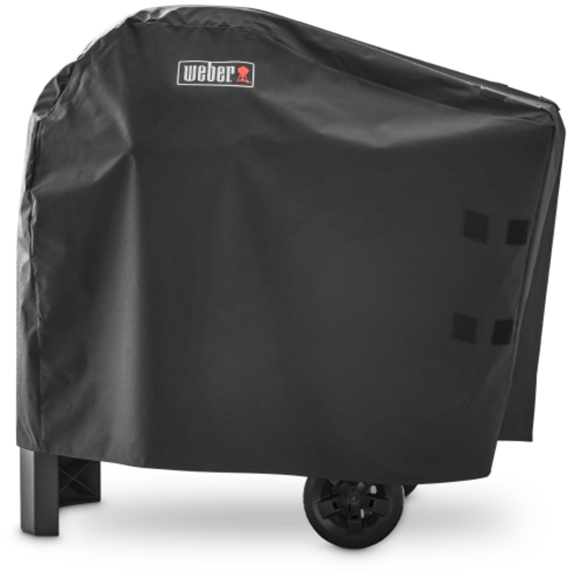 Weber Pulse 1000 oder 2000 mit Rollwagen Premium Abdeckhaube 7181