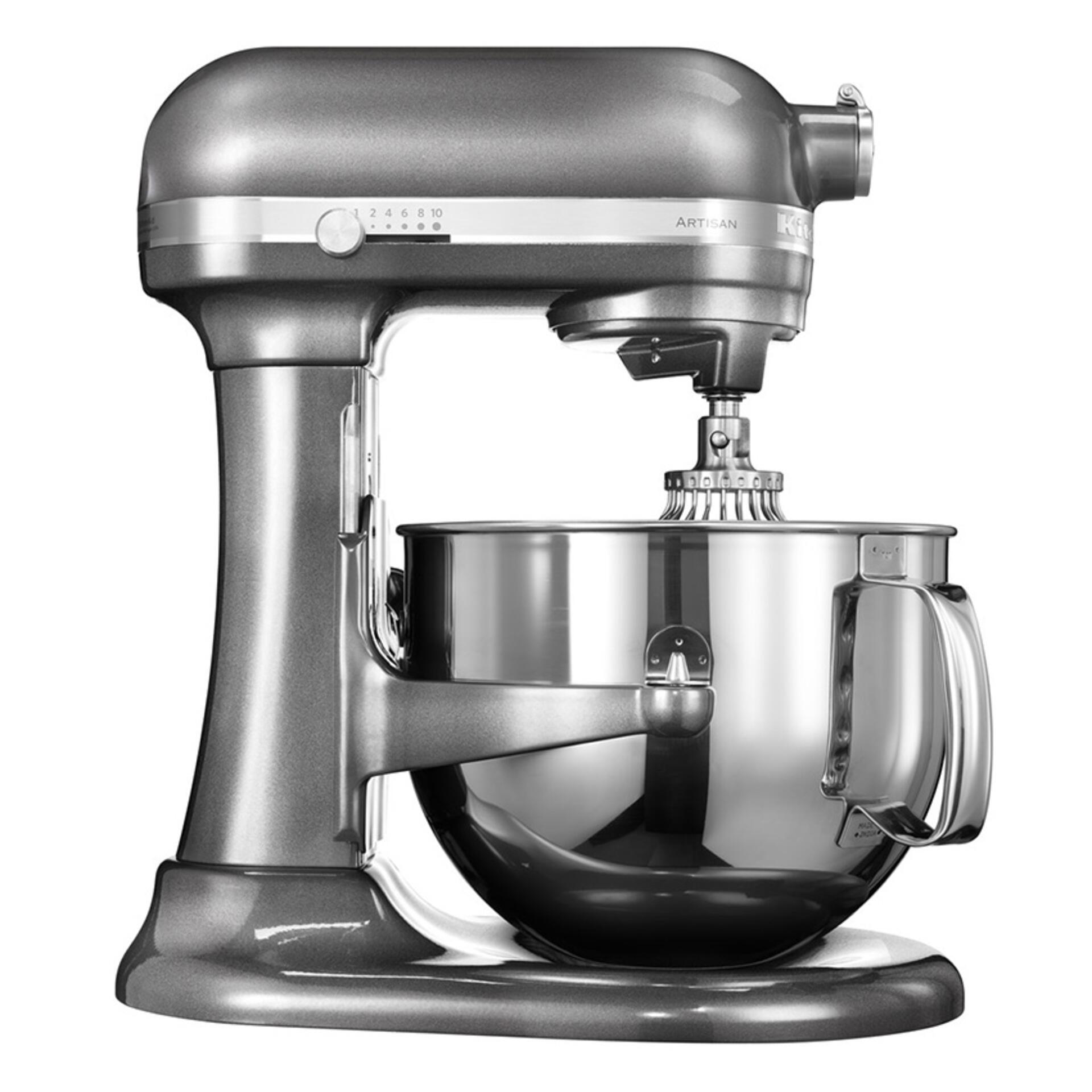 Kitchenaid Artisan Küchenmaschine 6,9 Liter Silber 5KSM7580XEMS