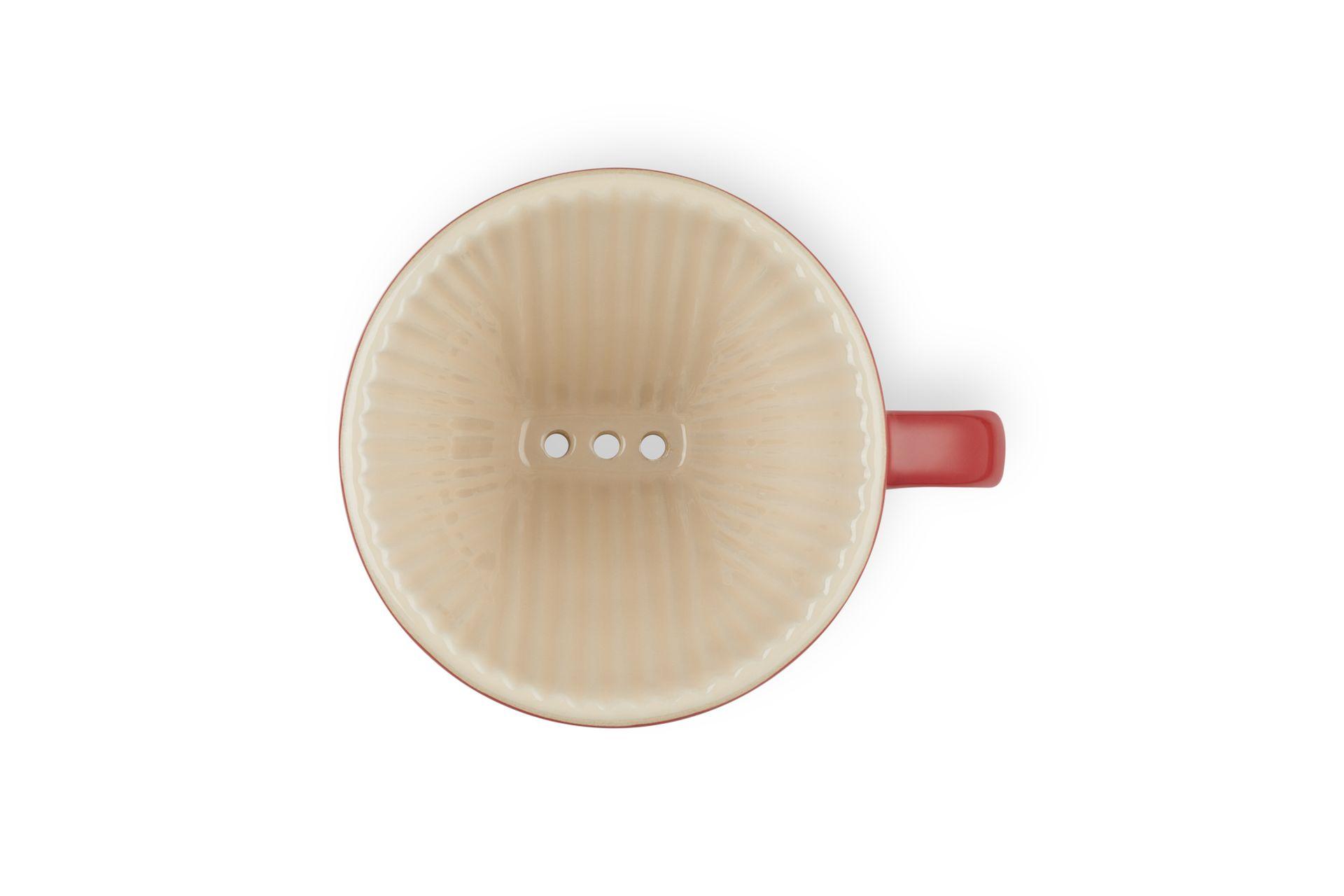 Le Creuset Kaffee-Filter Kirschrot