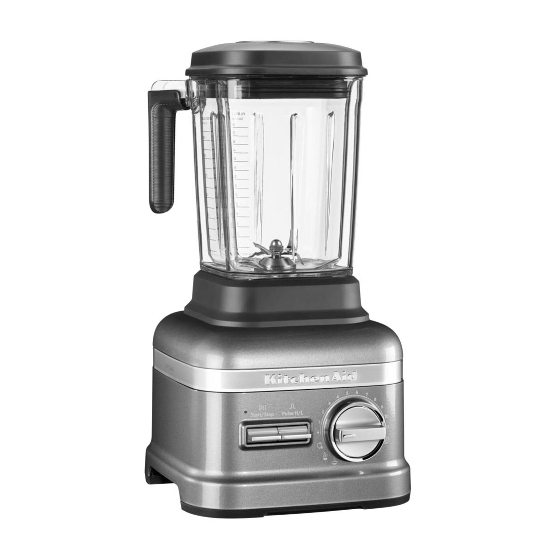Kitchenaid Artisan Power Plus Blender Standmixer 5KSB8270 Medaillon-Silber