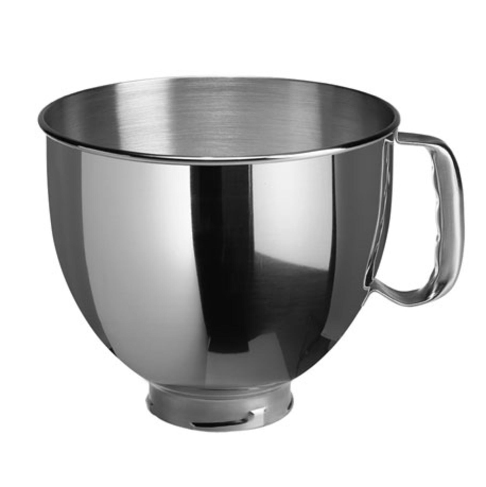 KitchenAid Edelstahlschüssel 4,83 Liter glänzend passend zur Heavy Duty Küchenmaschine K5ASBP