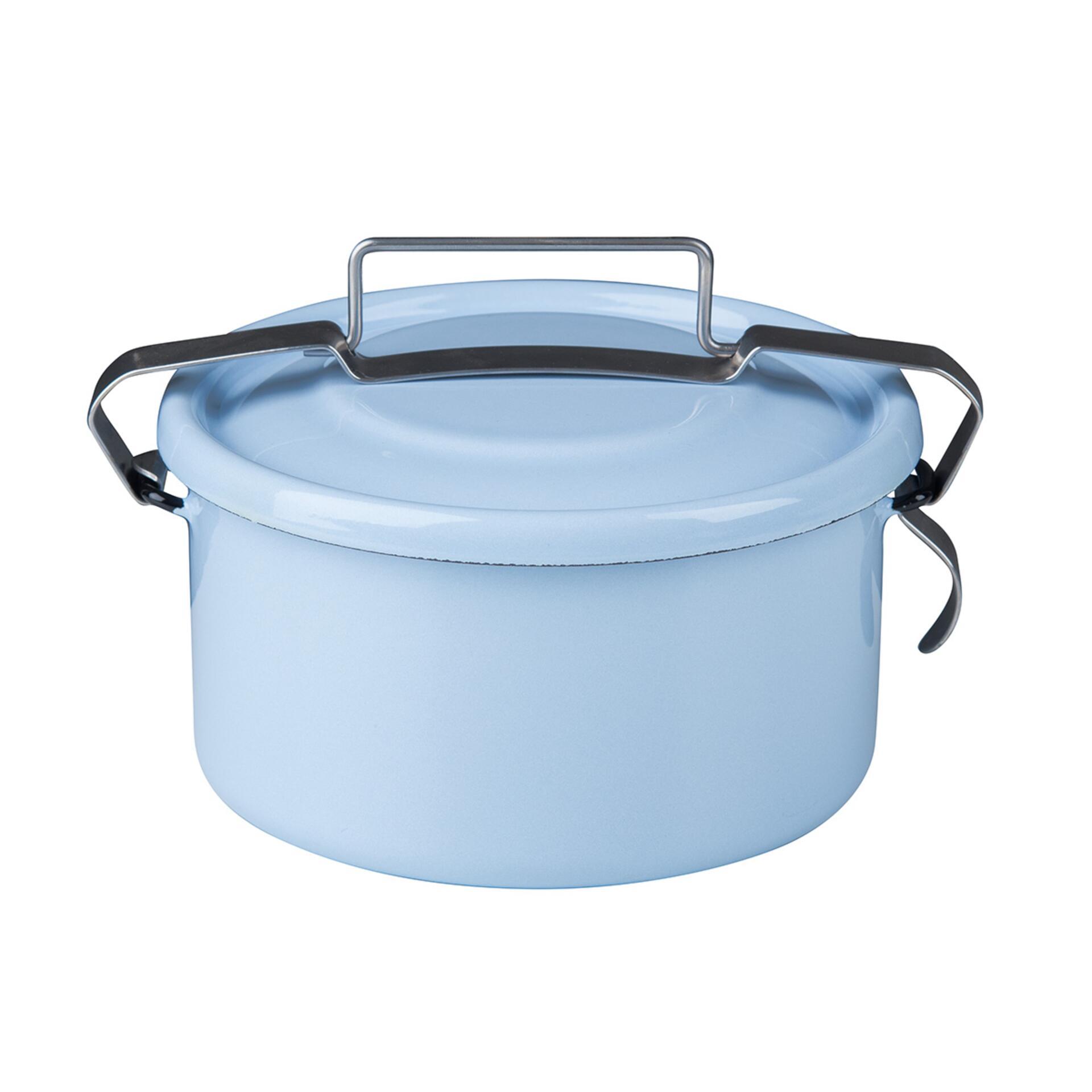 Riess Dichtungsdose rund 1 l Pastell Blau
