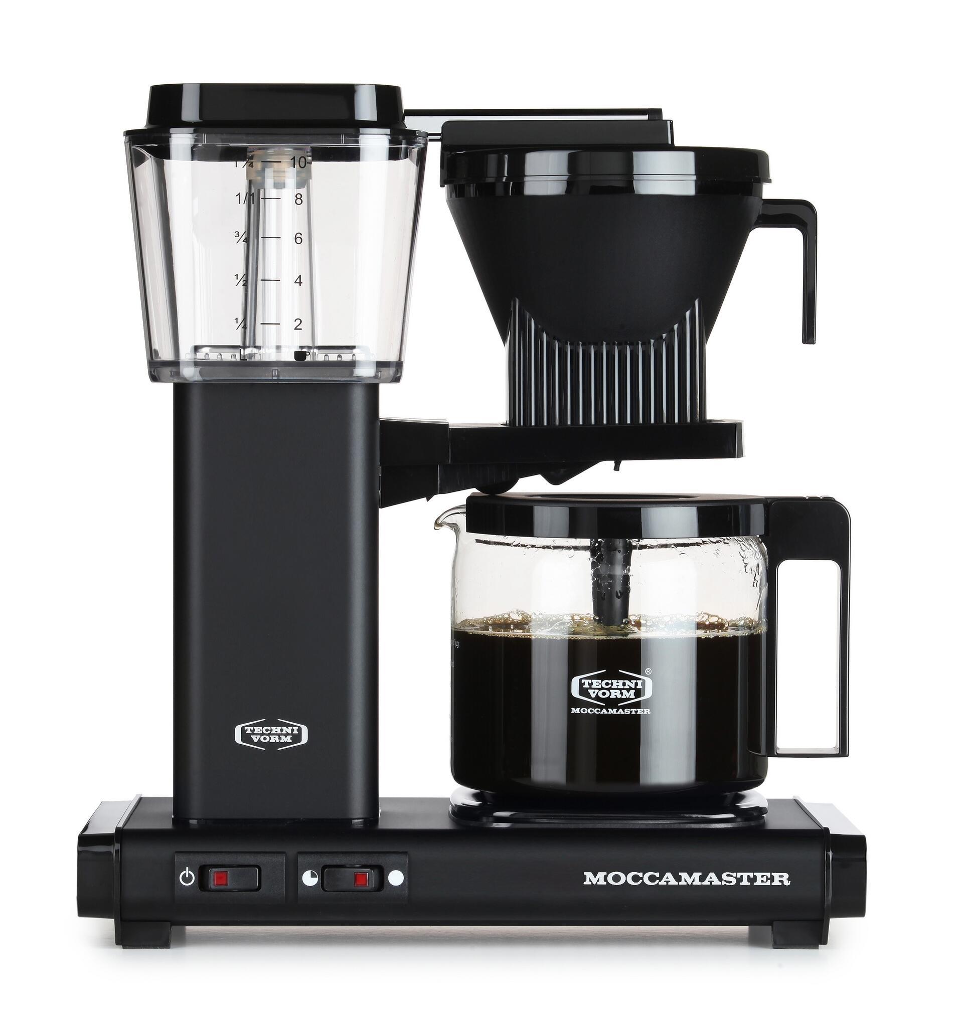 Moccamaster Kaffeemaschine KBG Select Matt Black