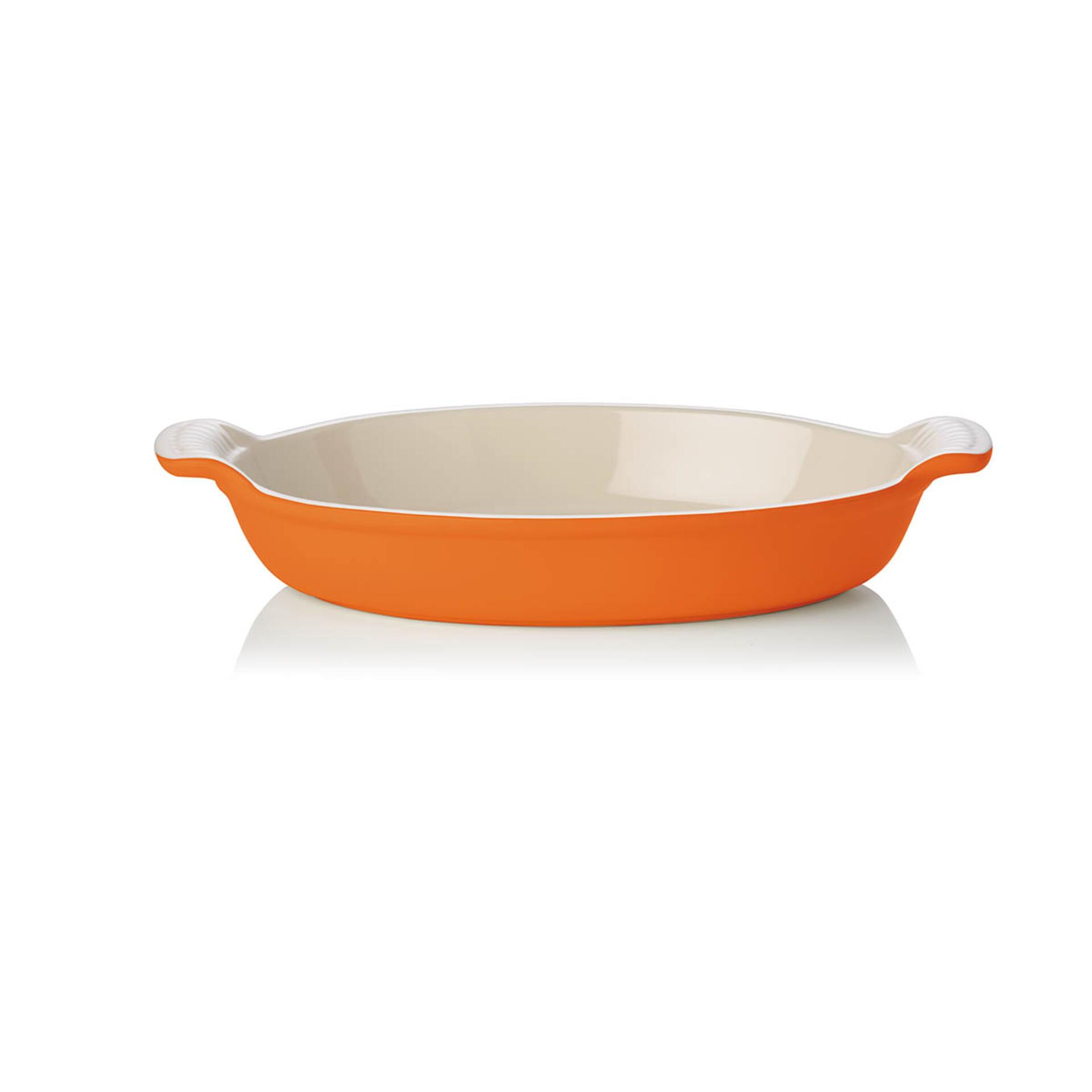 Le Creuset Auflaufform Tradition oval 36 cm Ofenrot