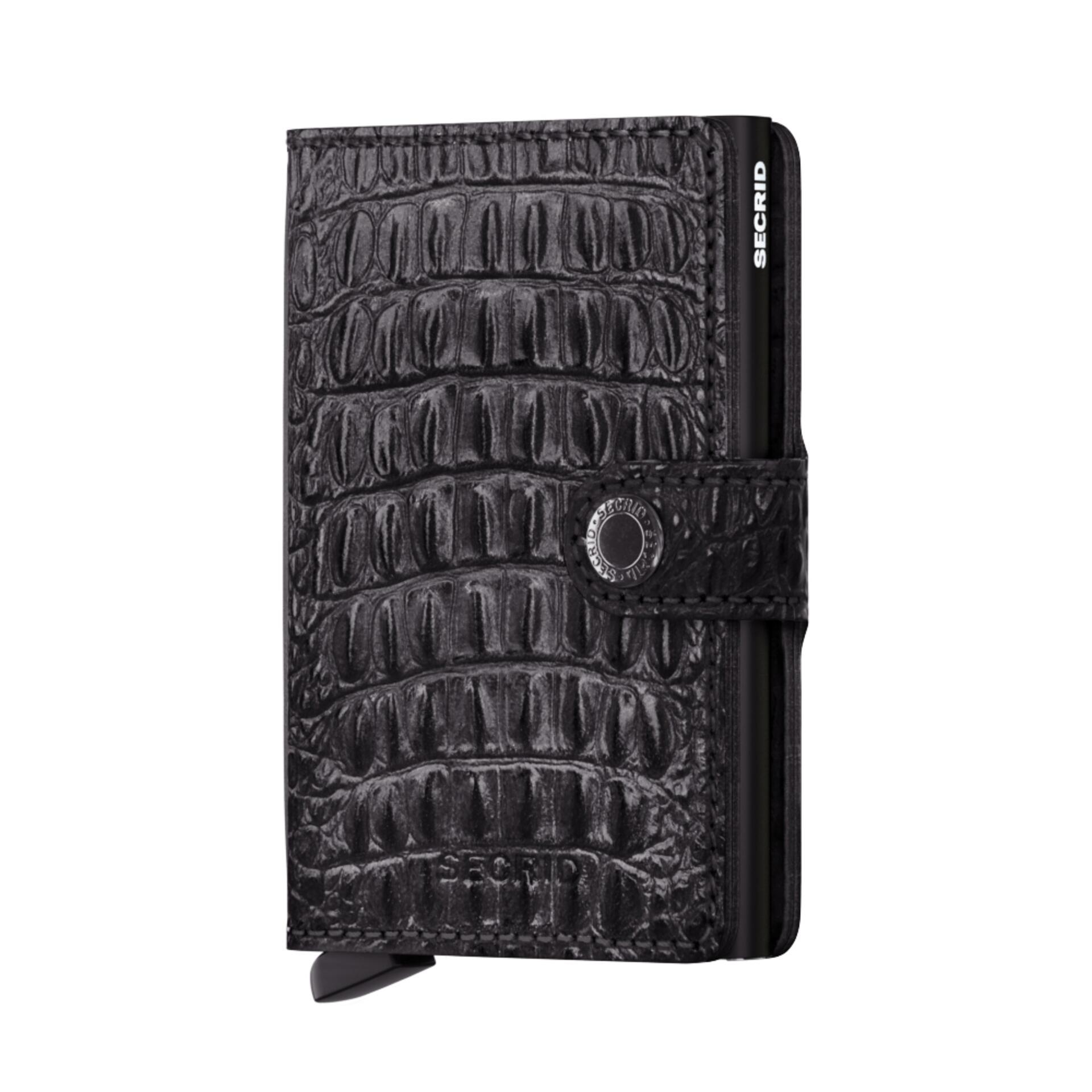 Secrid Miniwallet Nile Black Leder