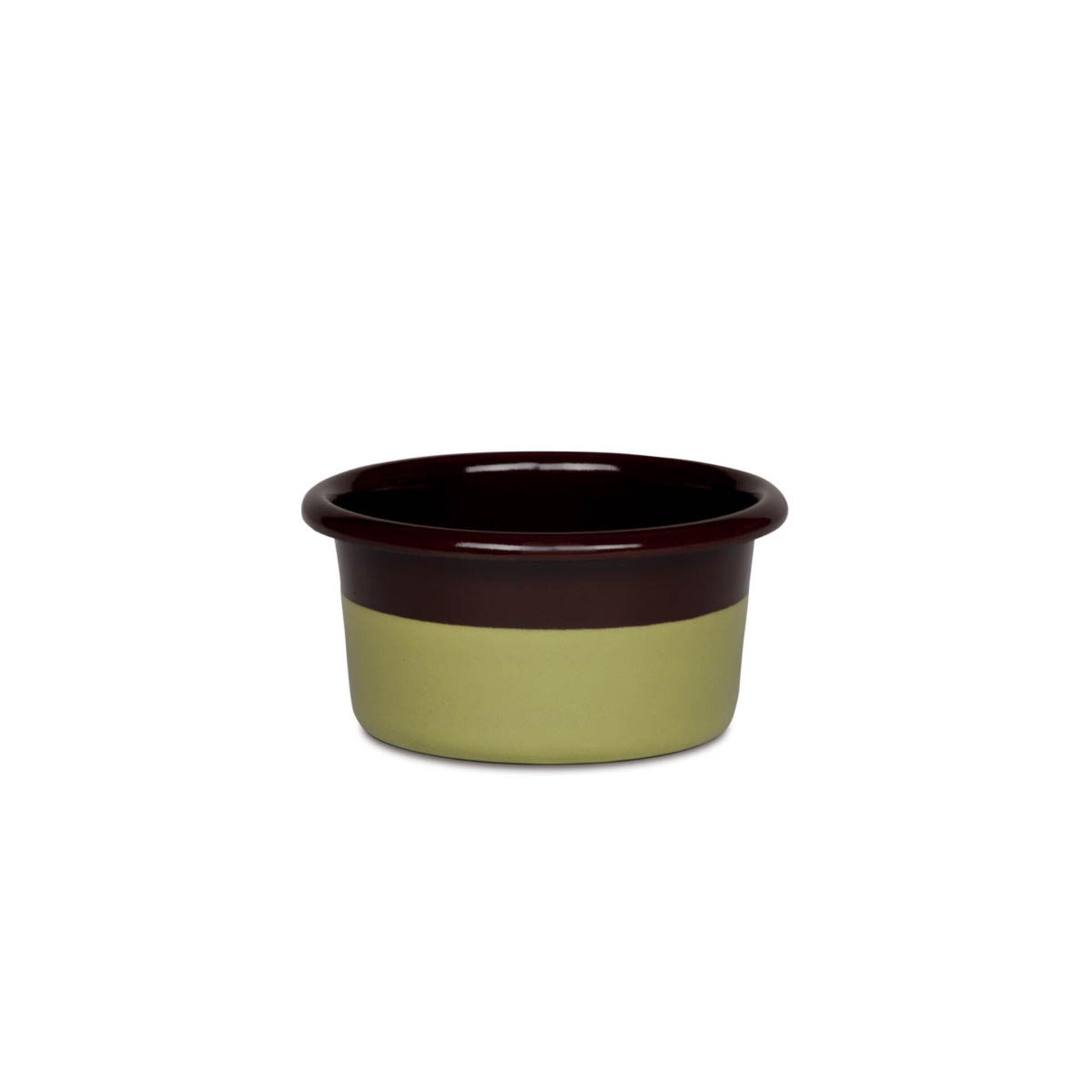 Riess Muffinform niedrig Schoko/Pistazie Edition Sarah Wiener 8 cm
