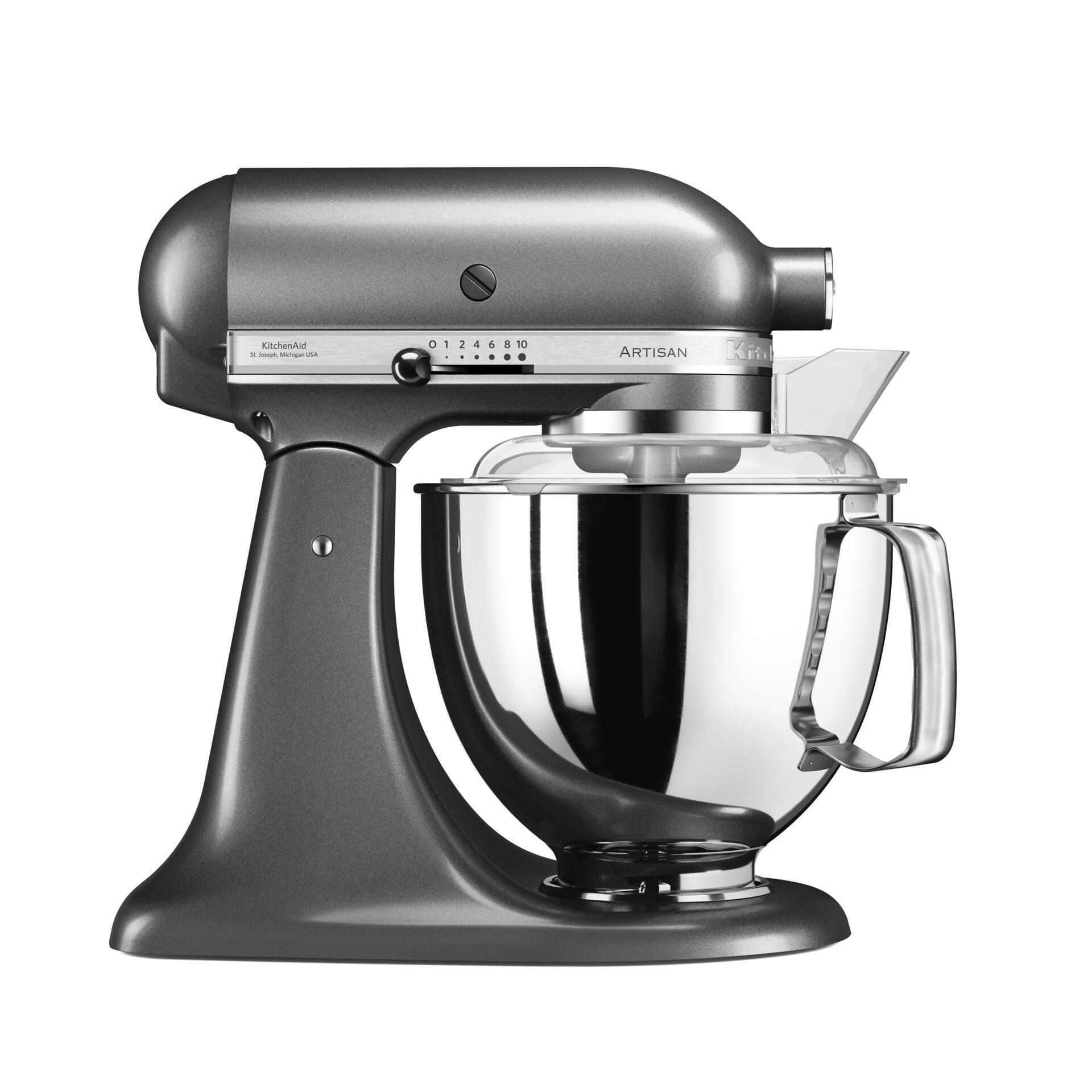 Kitchenaid Küchenmaschine Medallion Silber 5KSM175PSEMS